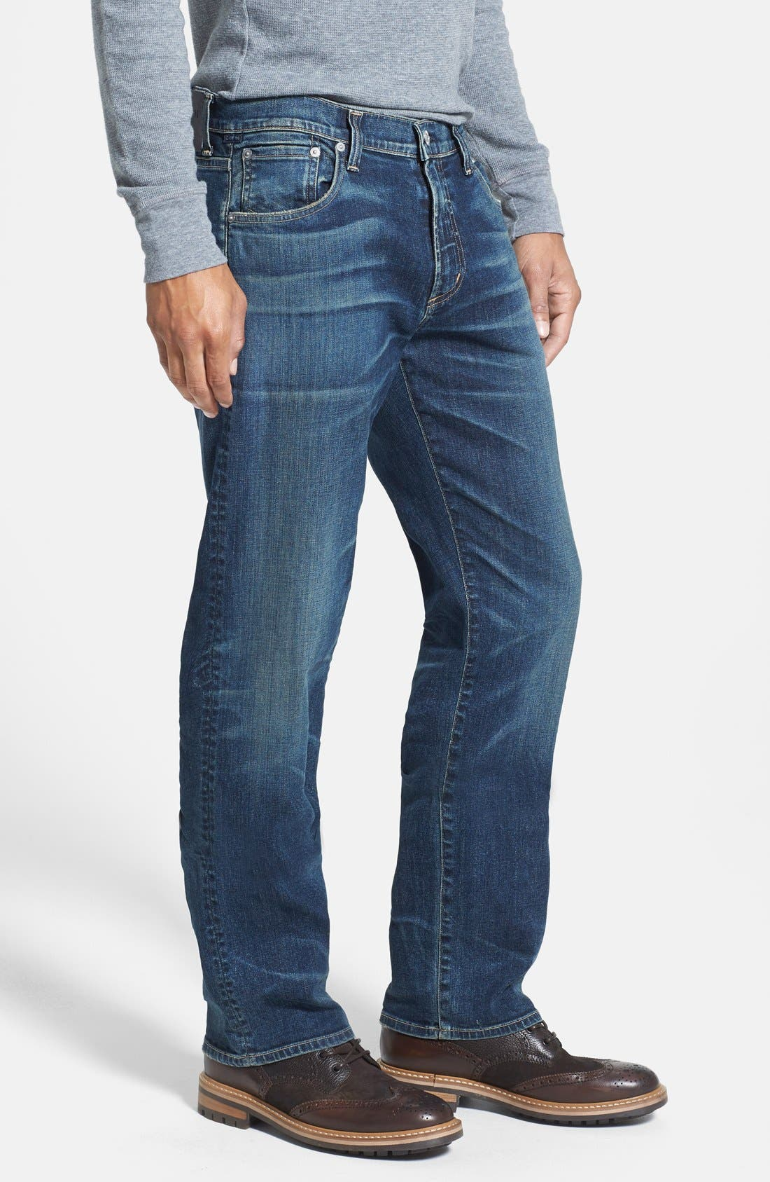 Alternate Image 3  - Citizens of Humanity 'Sid' Classic Straight Leg Jeans (Argo)
