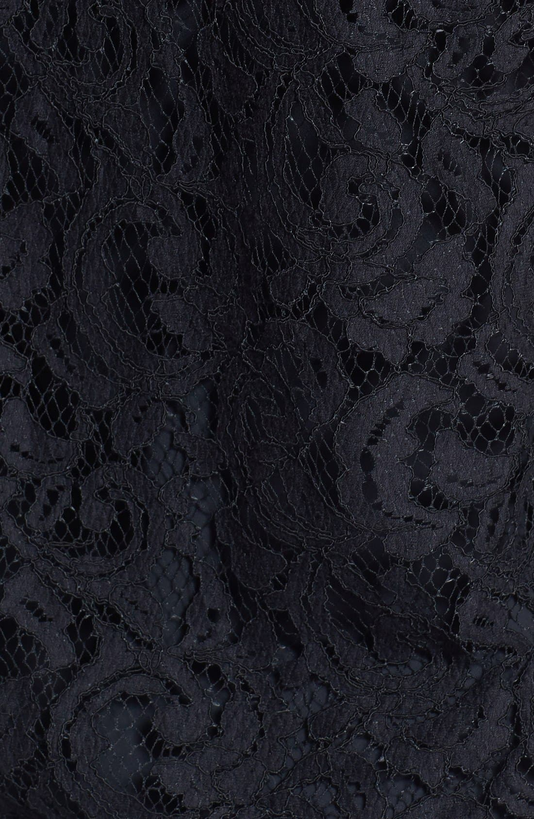 Alternate Image 3  - Vince Camuto Lace Blouse with Camisole