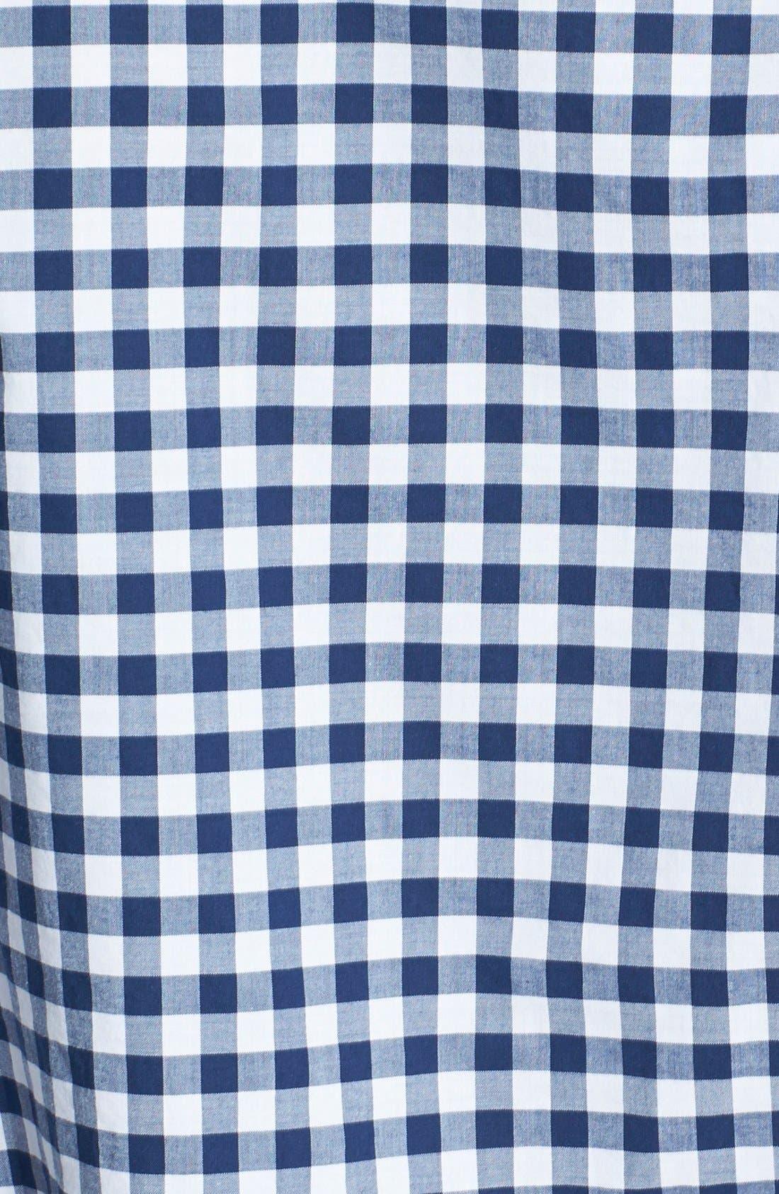 Alternate Image 3  - Bonobos 'Ging Crosby' Gingham Standard Fit Sport Shirt