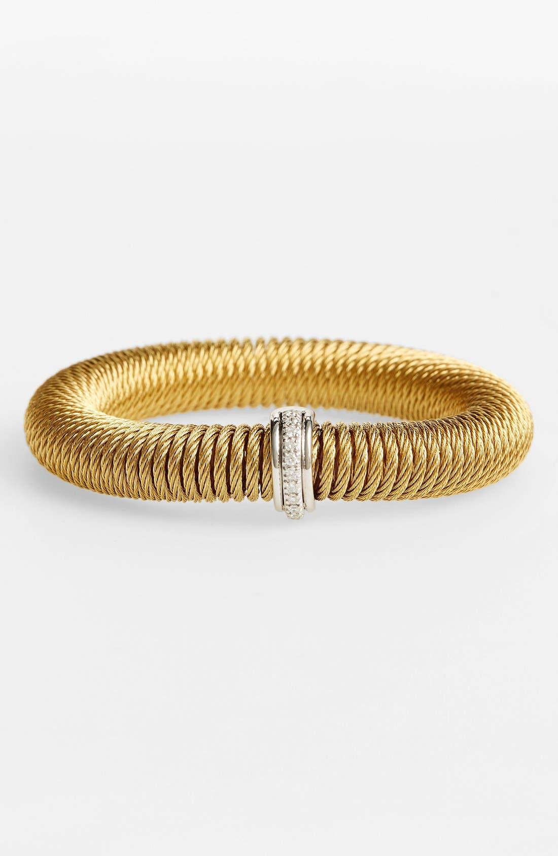 Main Image - ALOR® 'Kai' Diamond Stretch Bangle