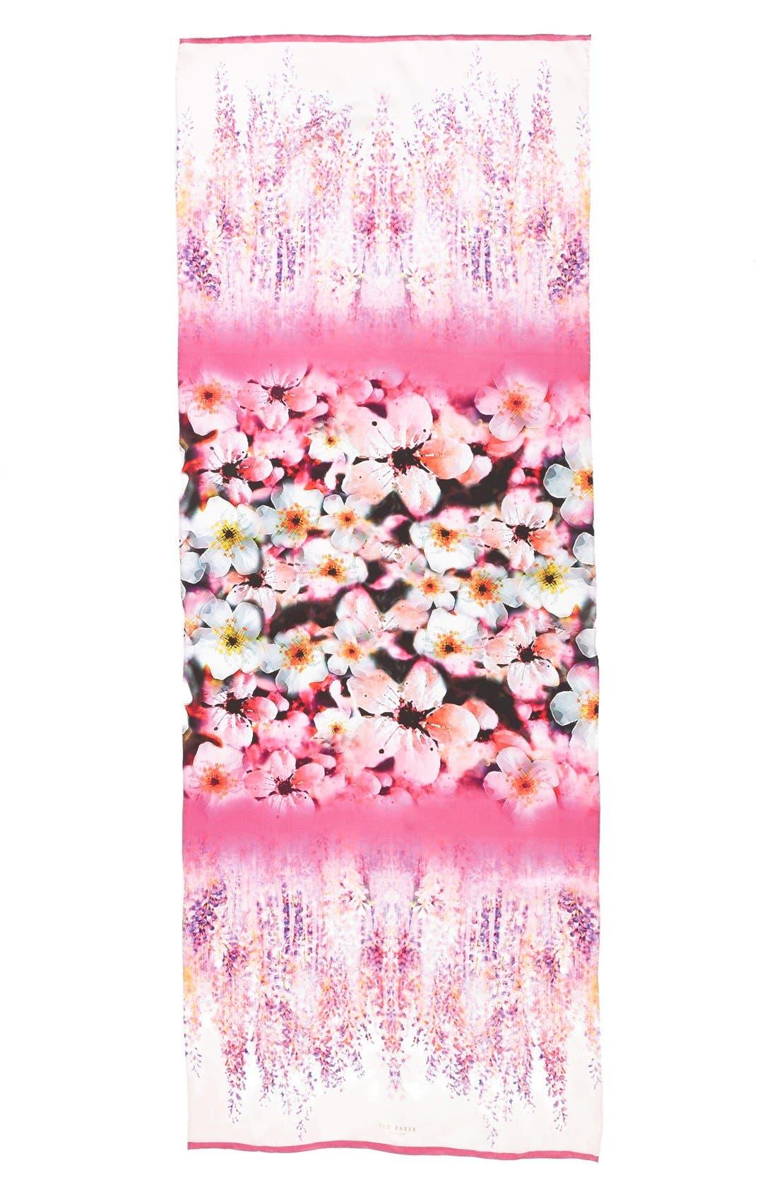 Alternate Image 2  - Ted Baker London 'Falling Blossom' Silk Scarf