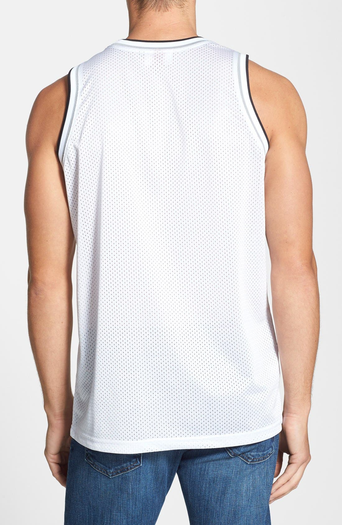 Alternate Image 2  - Mitchell & Ness 'Brooklyn Nets' Mesh Tank Top Jersey