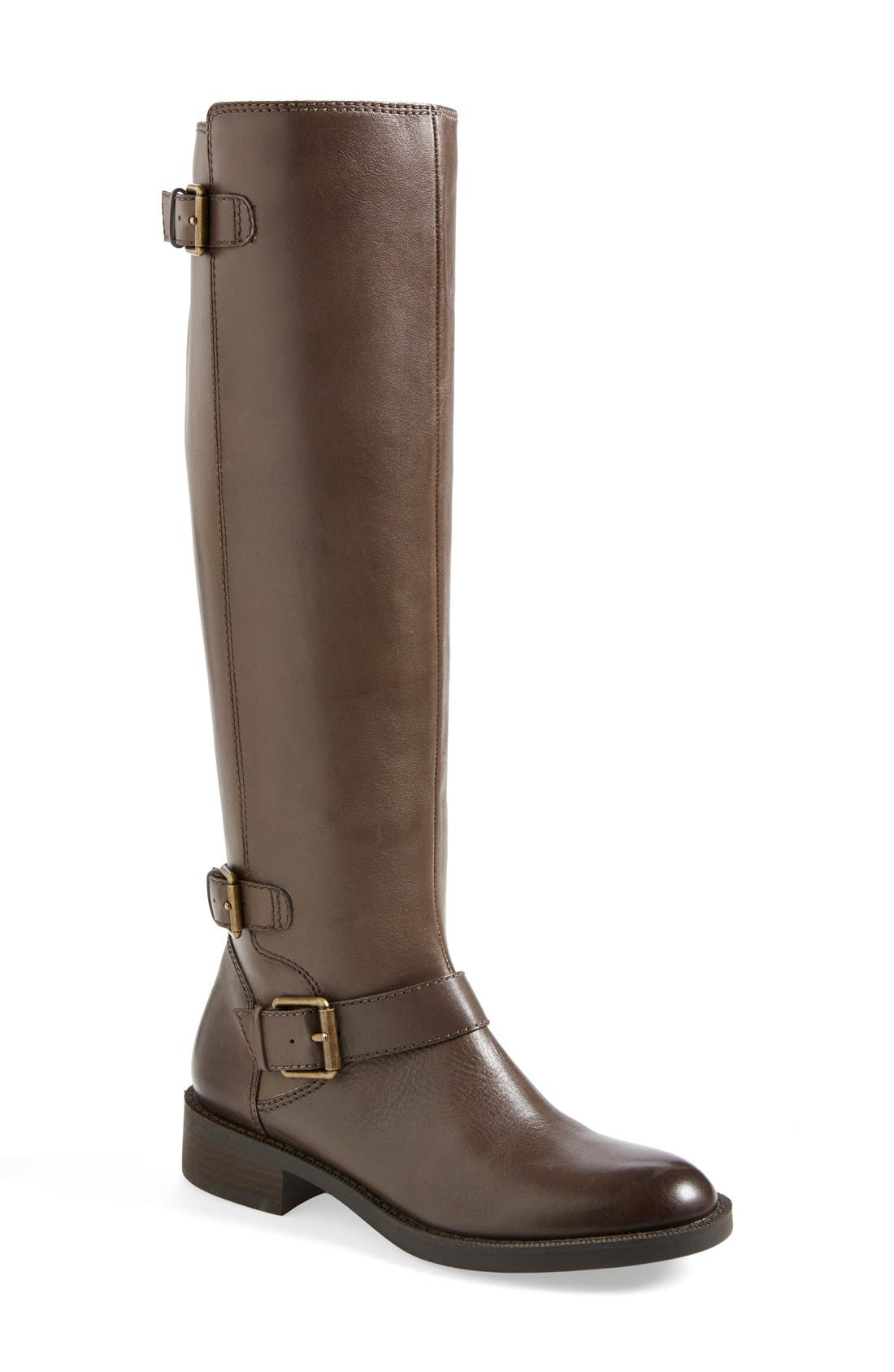 Alternate Image 1 Selected - Enzo Angiolini 'Sayin' Riding Boot (Women)