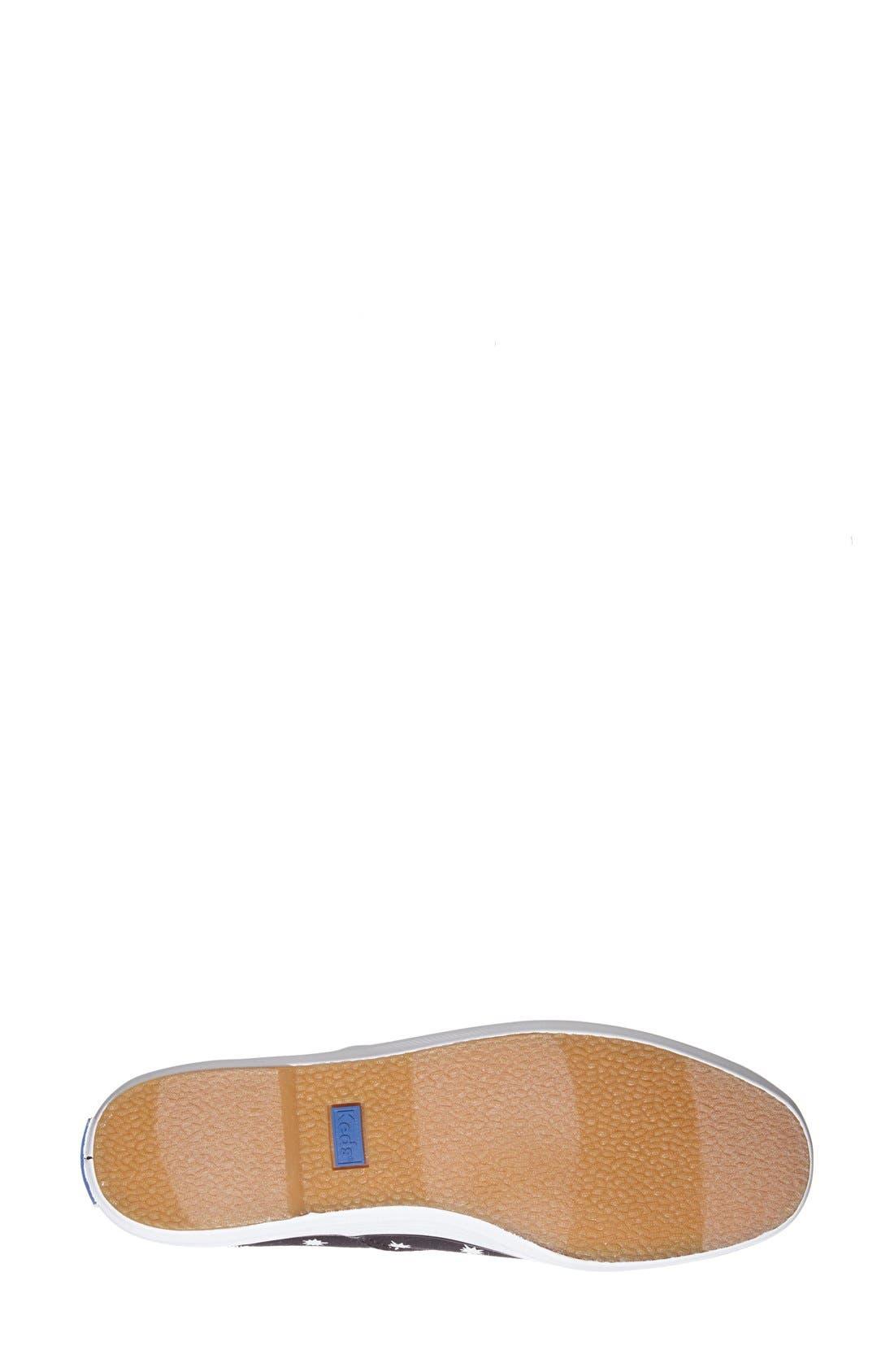 Alternate Image 4  - Keds® 'Champion - Starburst' Sneaker (Women)