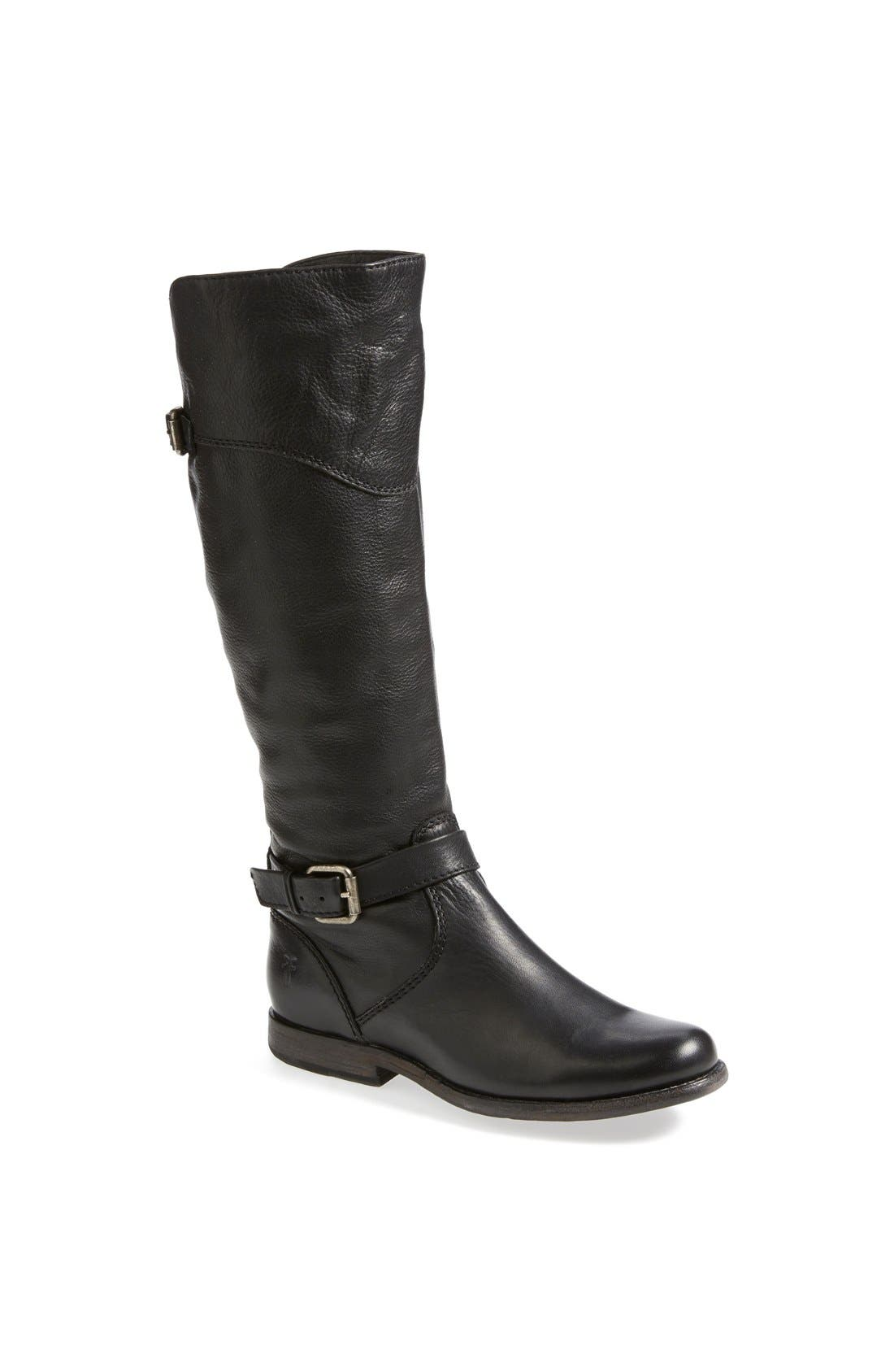 Alternate Image 1 Selected - Frye 'Phillip' Riding Boot (Extended Calf) (Women)