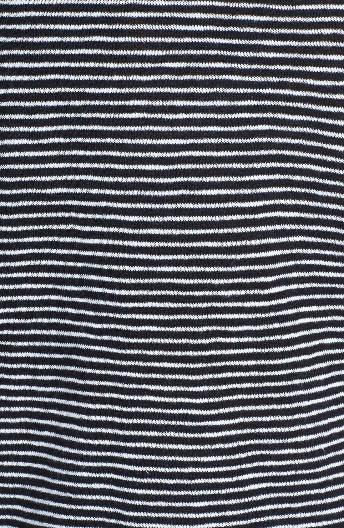 Alternate Image 3  - Eileen Fisher Boatneck Stripe Sweater