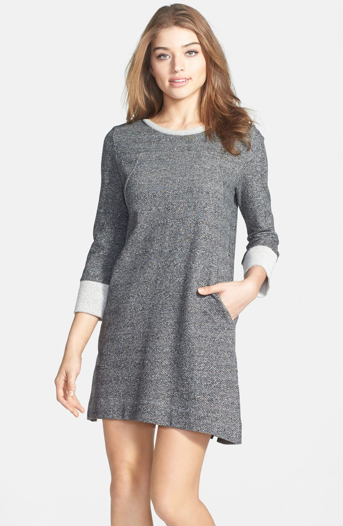 Main Image - French Connection 'Mississippi Mélange' Sweater Knit Shift Dress
