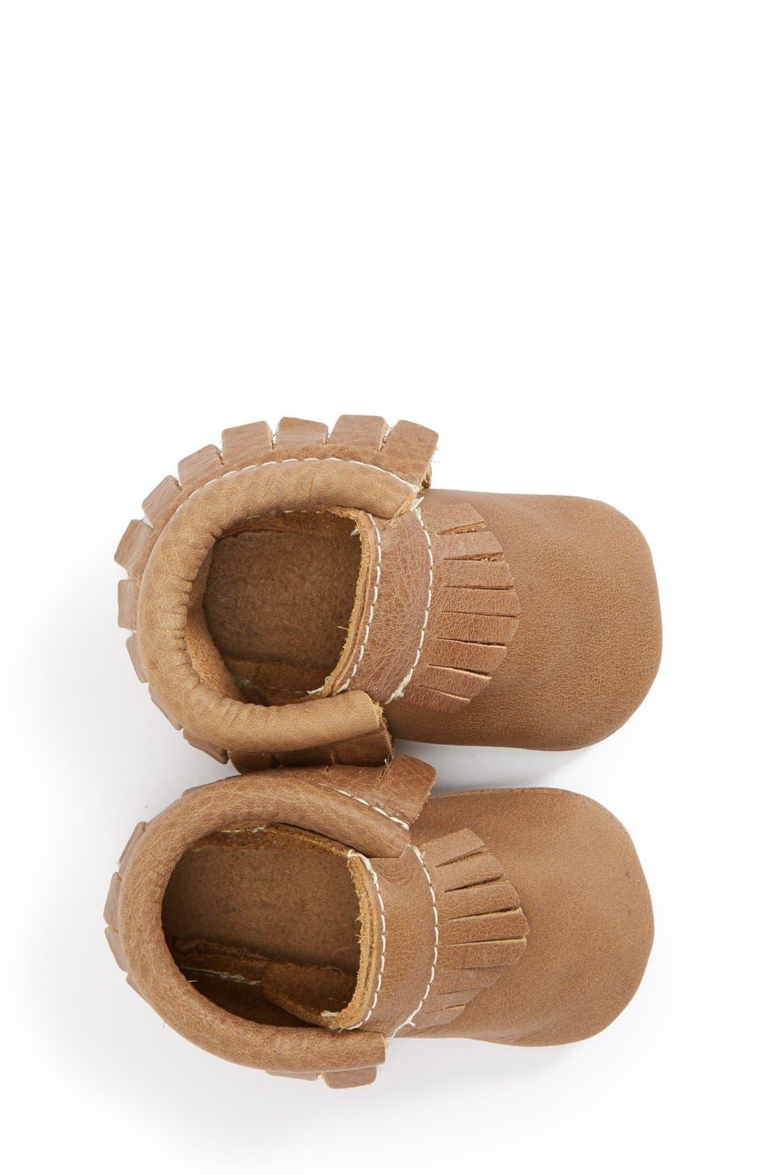 Alternate Image 3  - Freshly Picked Leather Moccasin (Baby & Walker)