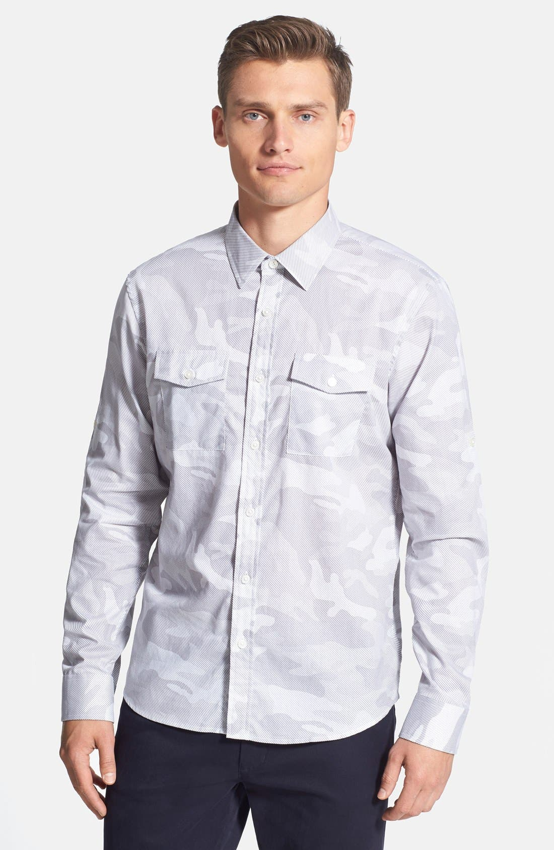 Main Image - Michael Kors Camo Print Sport Shirt