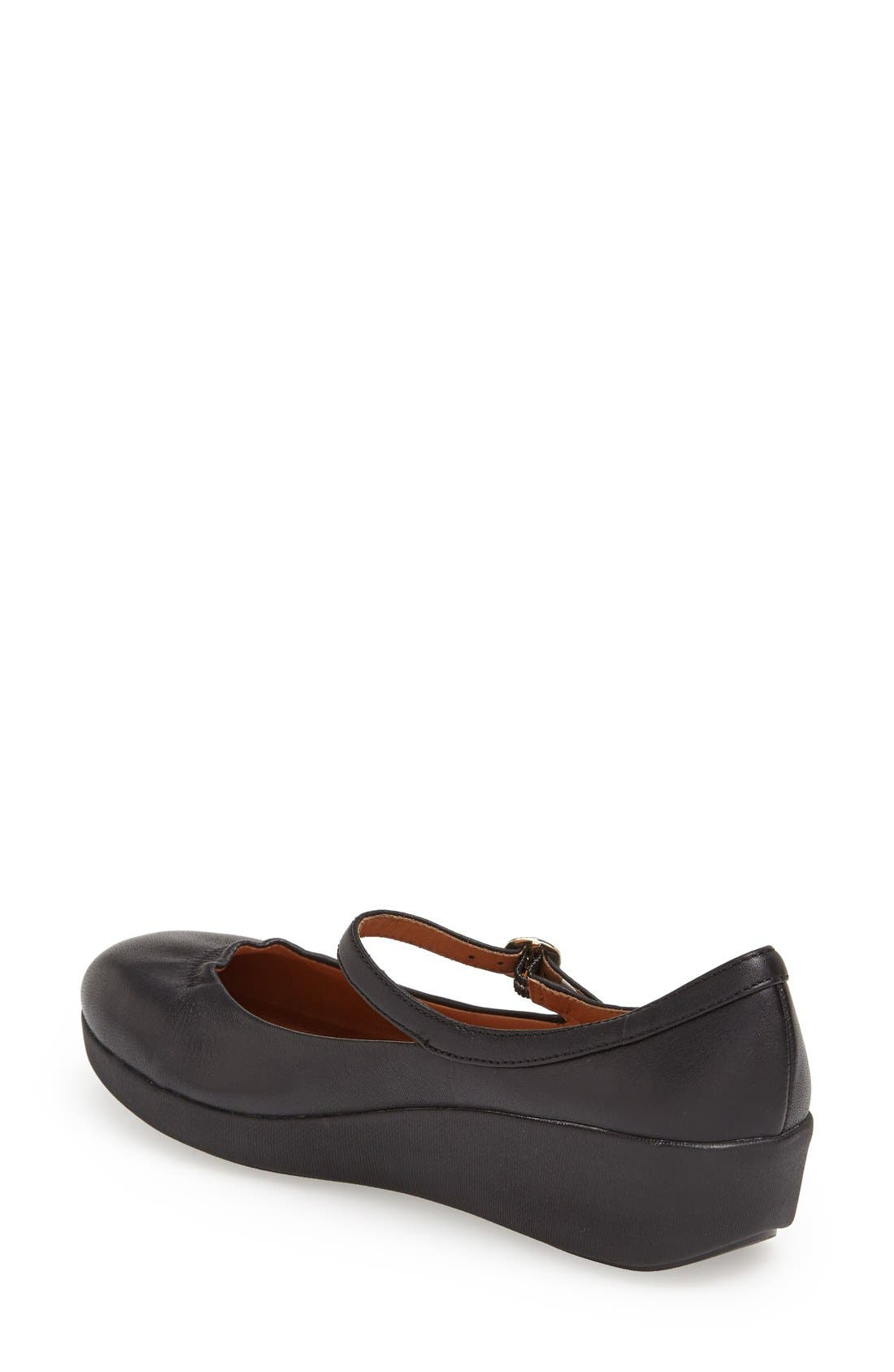 Alternate Image 2  - FitFlop™ 'F-Pop' Leather Mary Jane (Women)