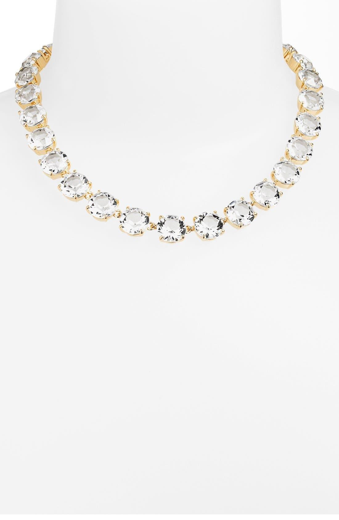 Alternate Image 1 Selected - Lauren Ralph Lauren 'Signature Collection' Crystal Collar Necklace