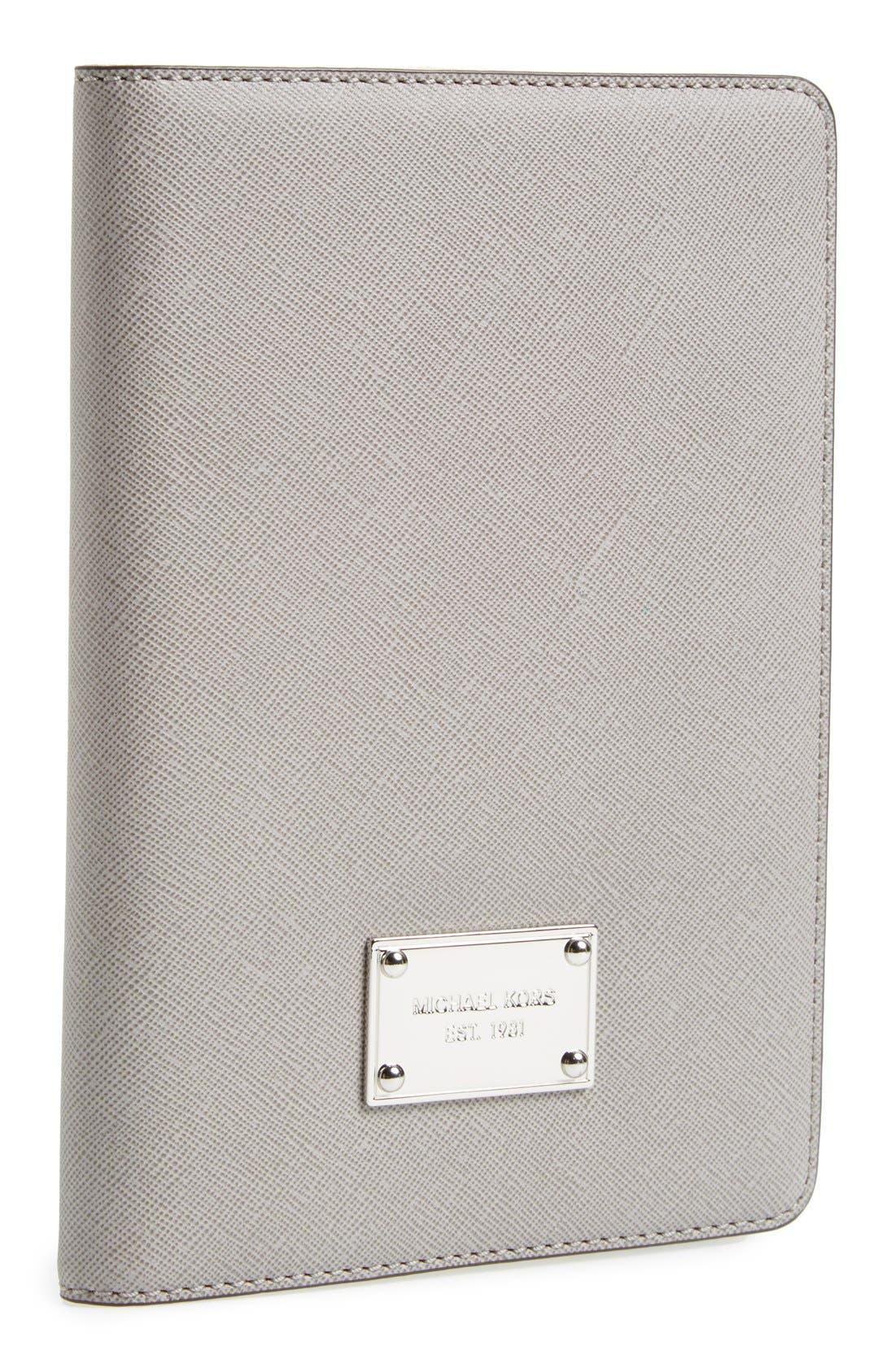 Alternate Image 1 Selected - MICHAEL Michael Kors Saffiano iPad mini Case