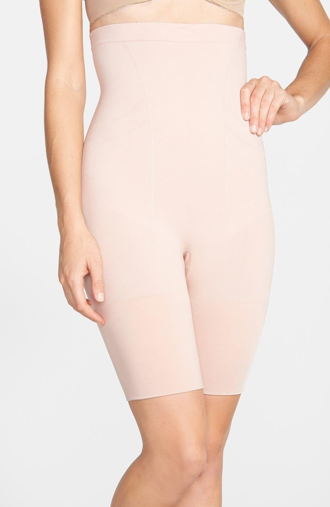 Main Image - SPANX® High Waist Mid Thigh Shaper