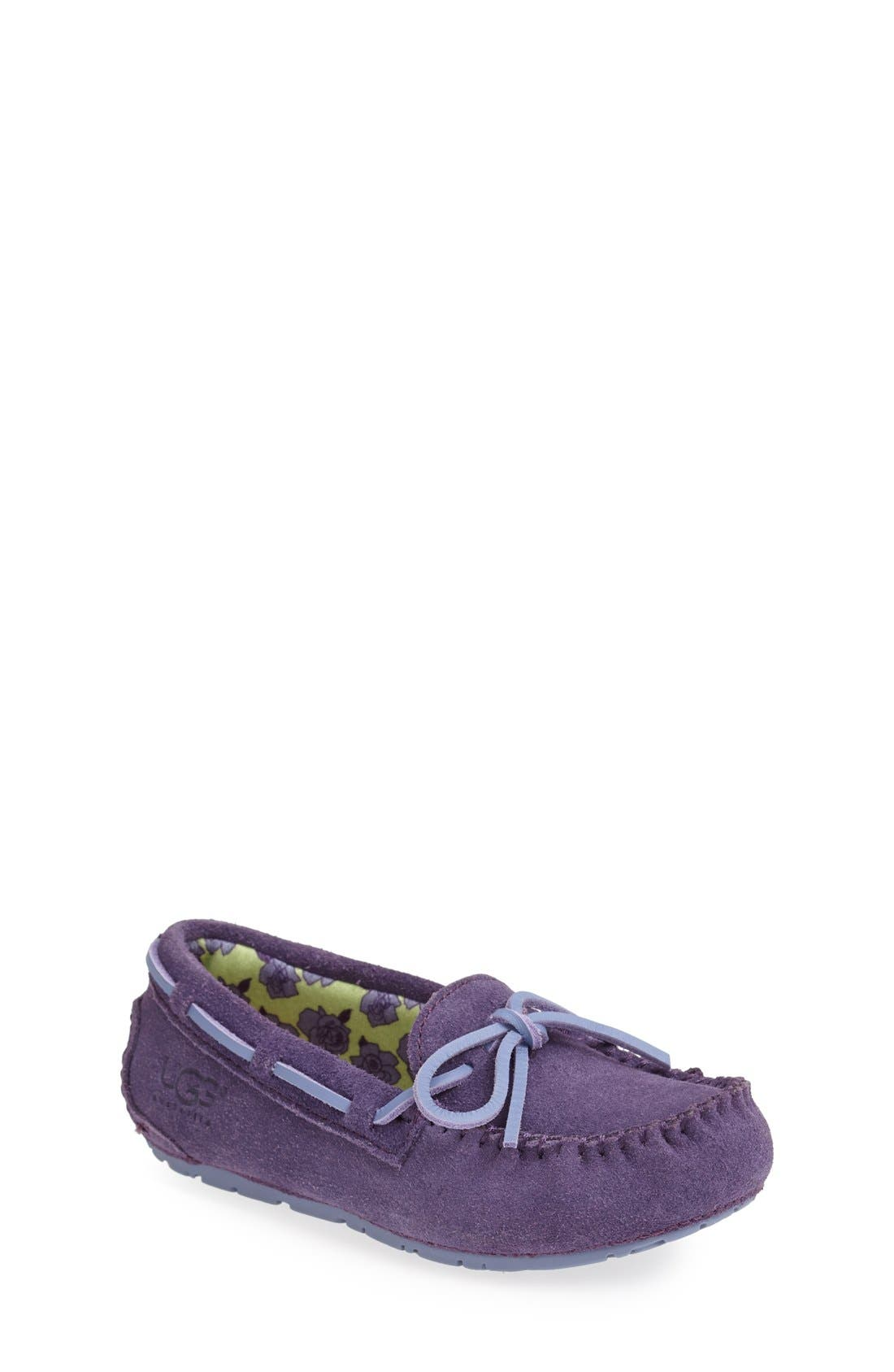 Alternate Image 1 Selected - UGG® 'Ryder Rose' Slipper (Toddler, Little Kid & Big Kid)