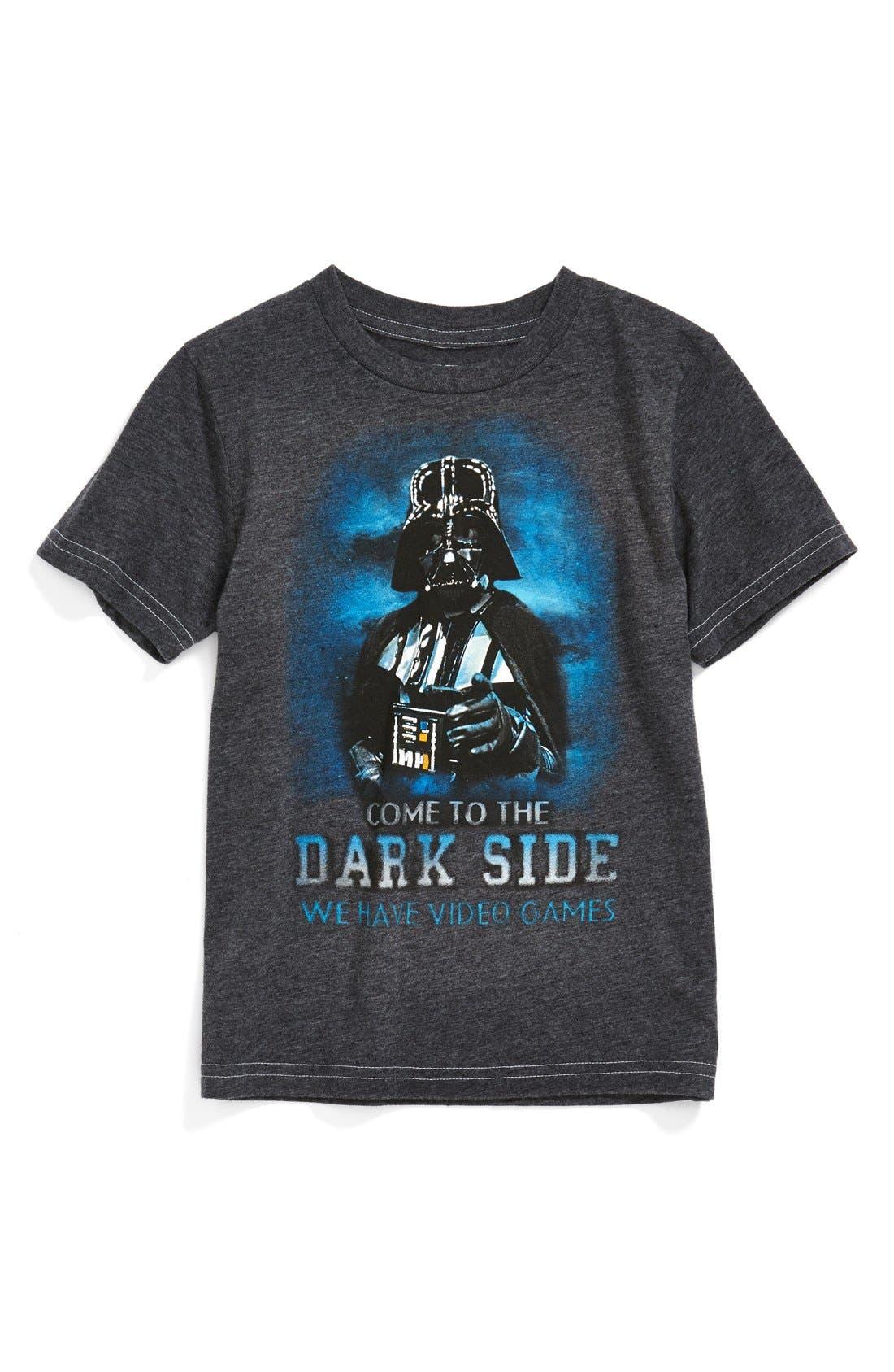 Alternate Image 1 Selected - Jem 'Dark Side Darth' T-Shirt (Toddler Boys & Little Boys)