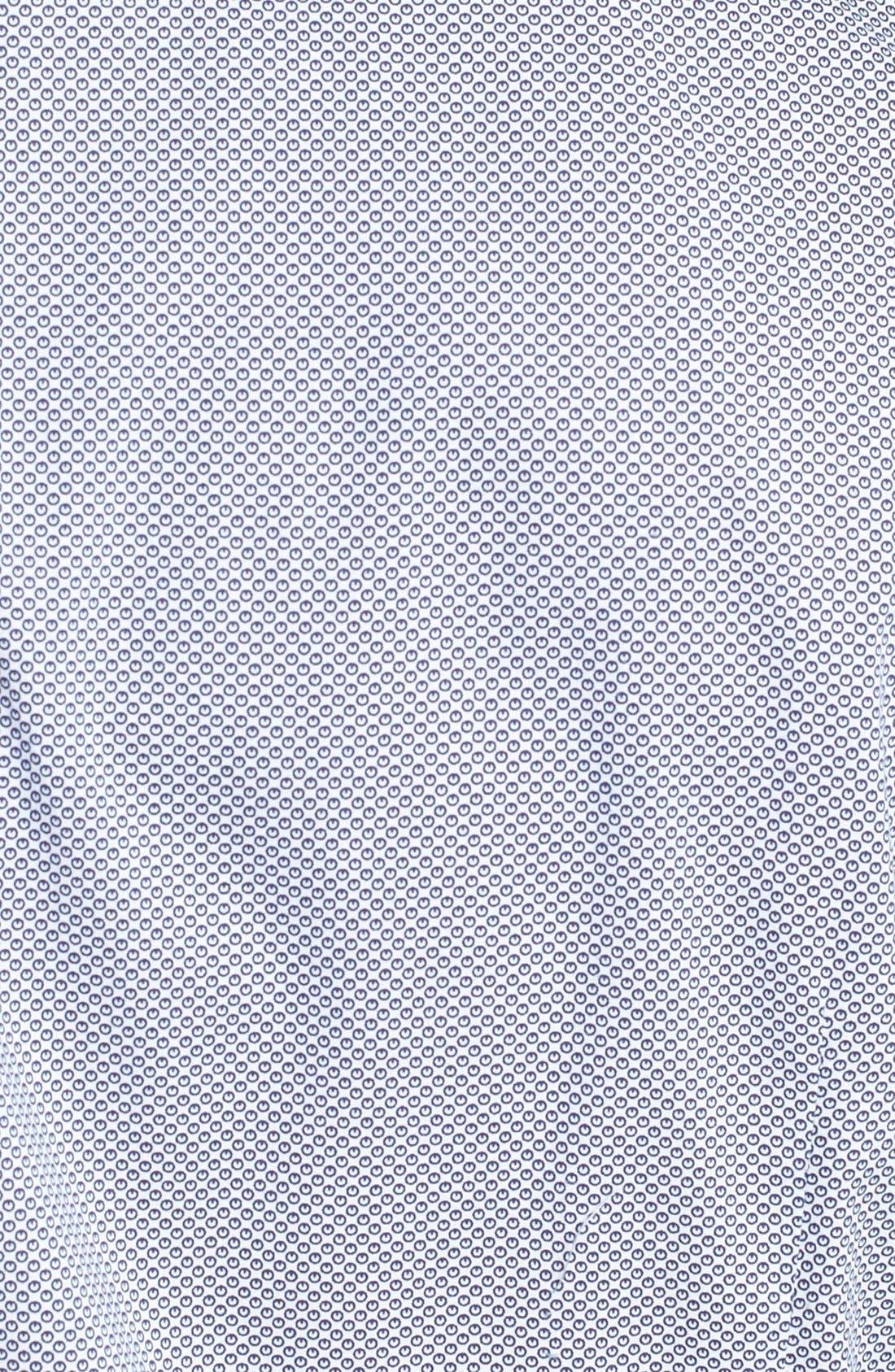 Alternate Image 3  - Ted Baker London 'Bablong' Trim Fit Geometric Sport Shirt