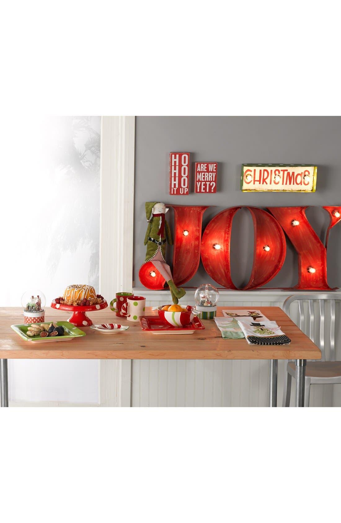 Alternate Image 2  - Roman 'Christmas' Lighted Box Sign