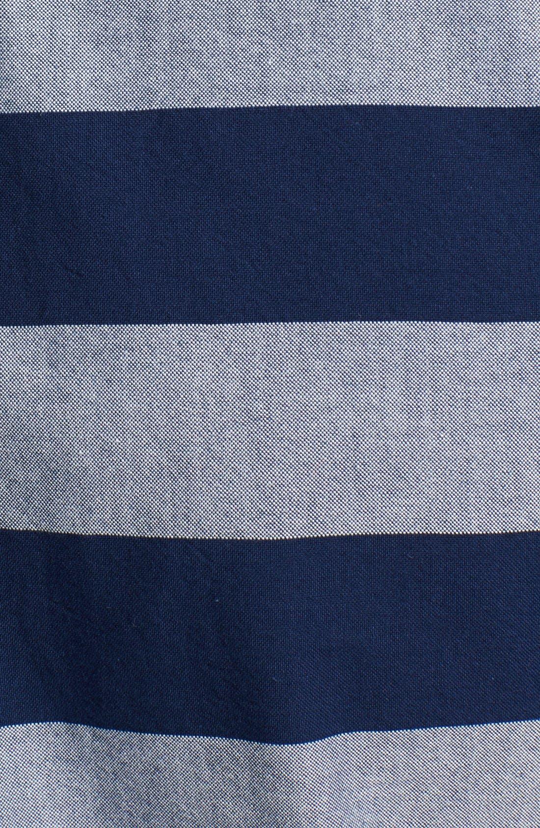 Alternate Image 3  - Jack Spade 'Percy' Short Sleeve Stripe Pullover Shirt