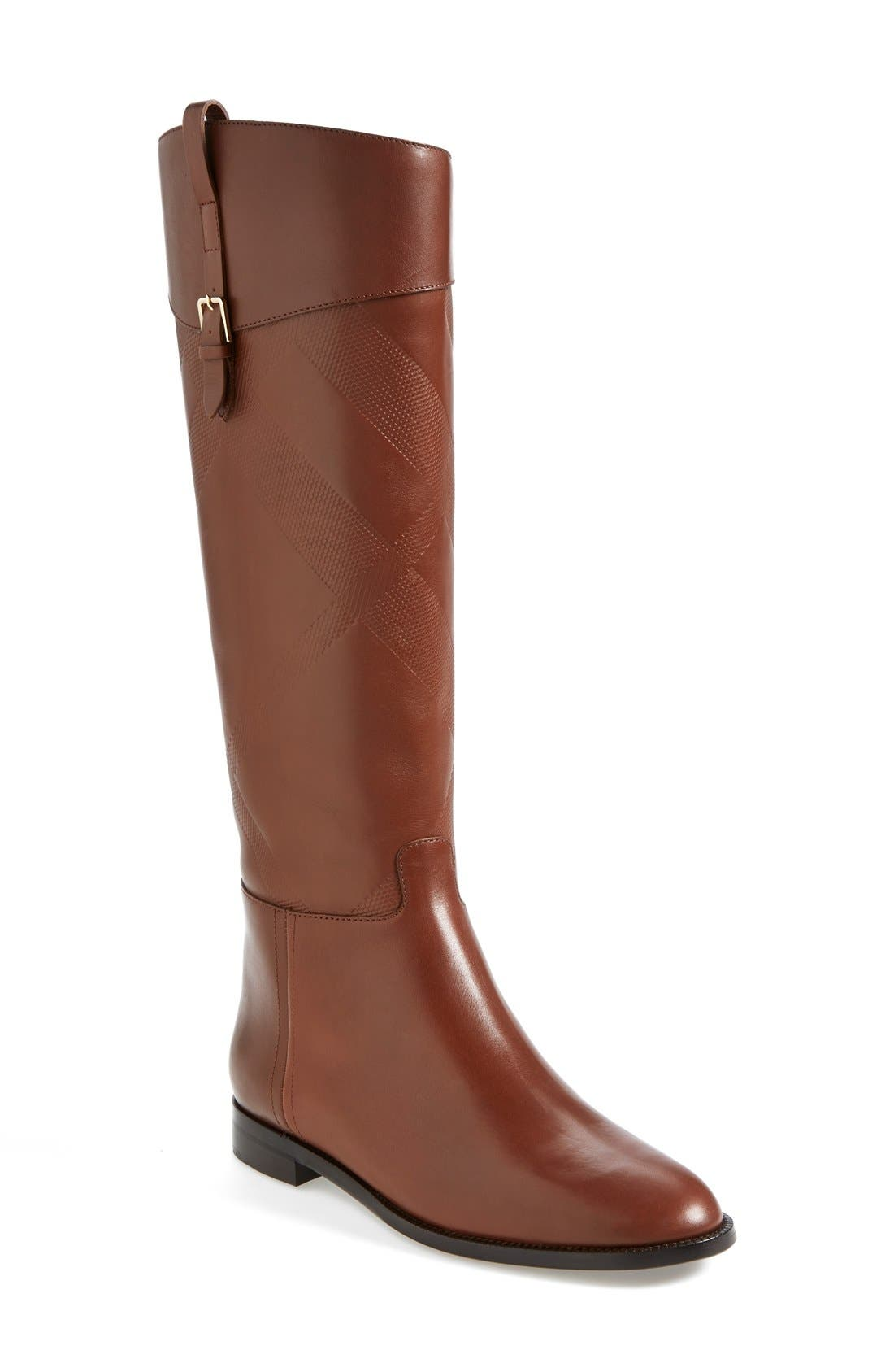 Alternate Image 1 Selected - Burberry 'Copse' Riding Boot (Women)