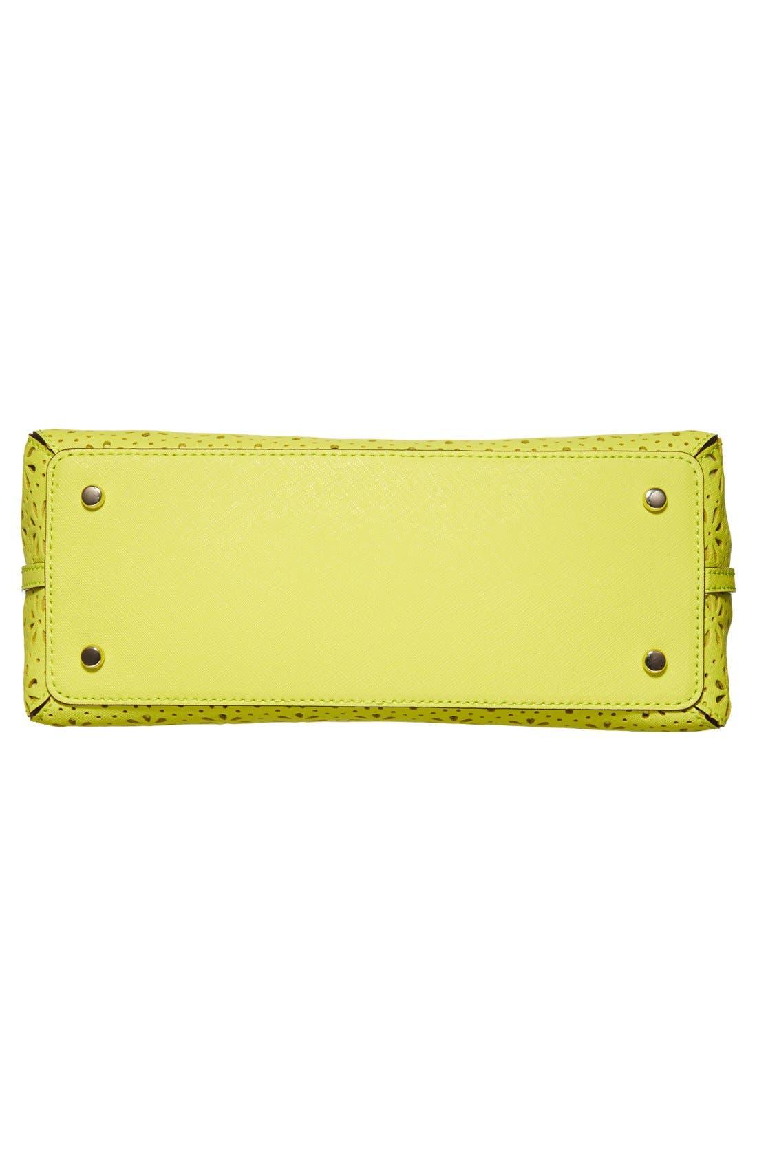 Alternate Image 3  - kate spade new york 'cedar street - maise' perforated leather satchel