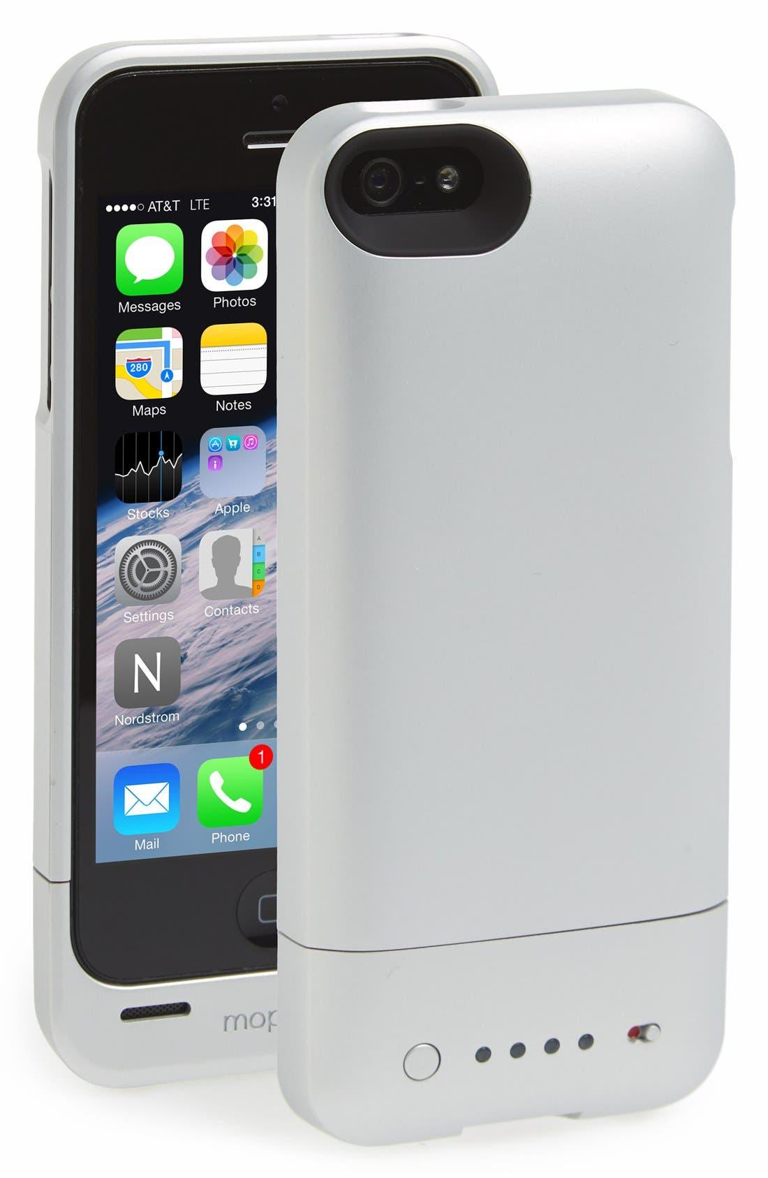 Alternate Image 1 Selected - mophie 'juice pack helium' iPhone 5/5s charging case