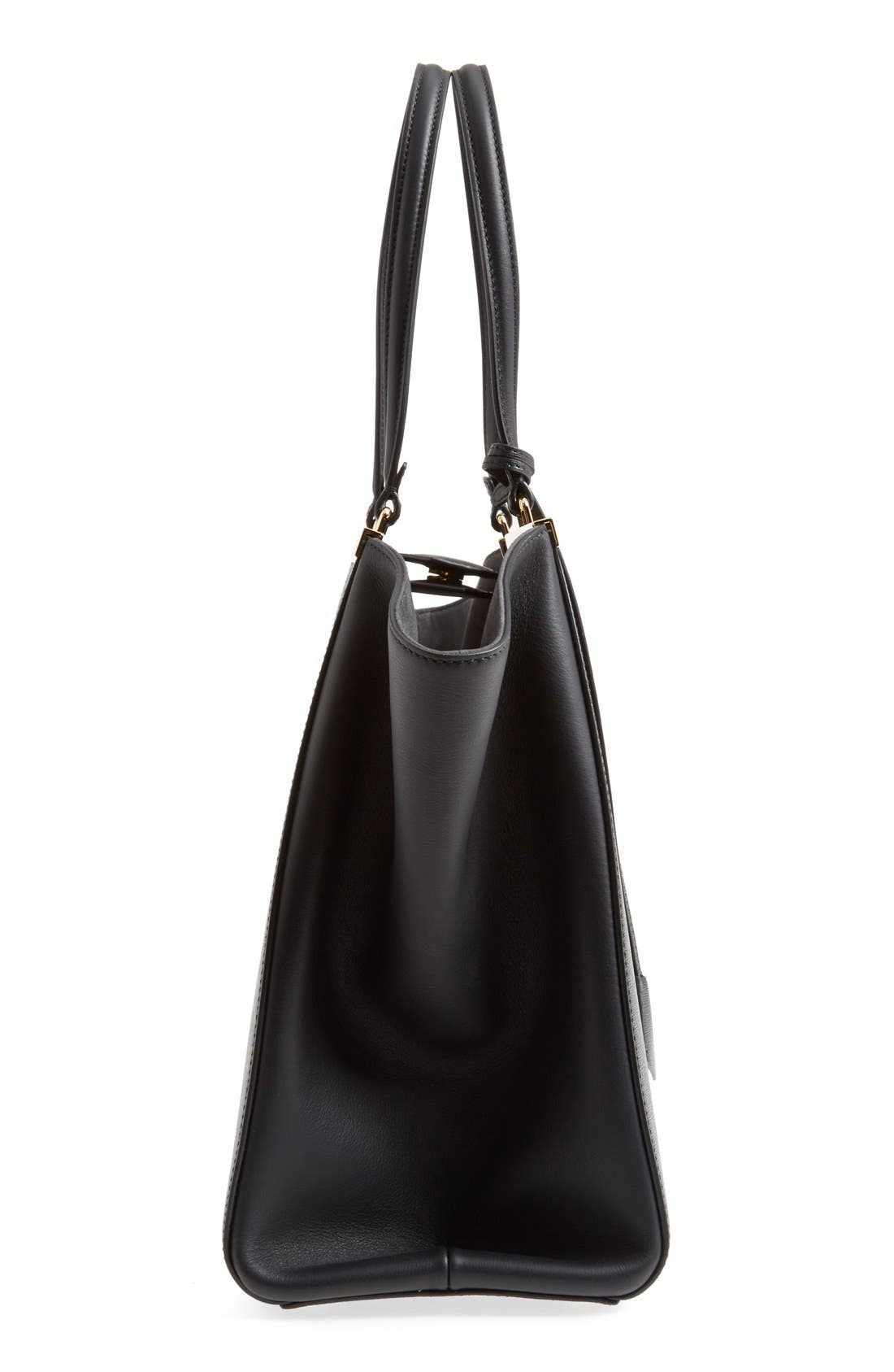 Alternate Image 5  - Fendi '3Jours' Leather Shopper