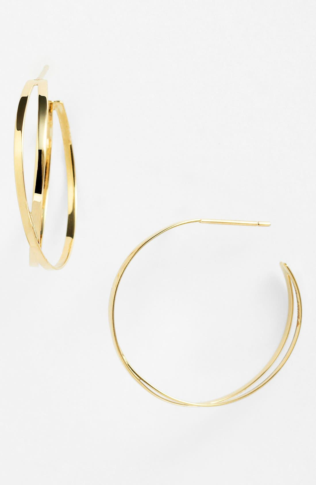 Alternate Image 1 Selected - Lana Jewelry 'White Night' Hoop Earrings