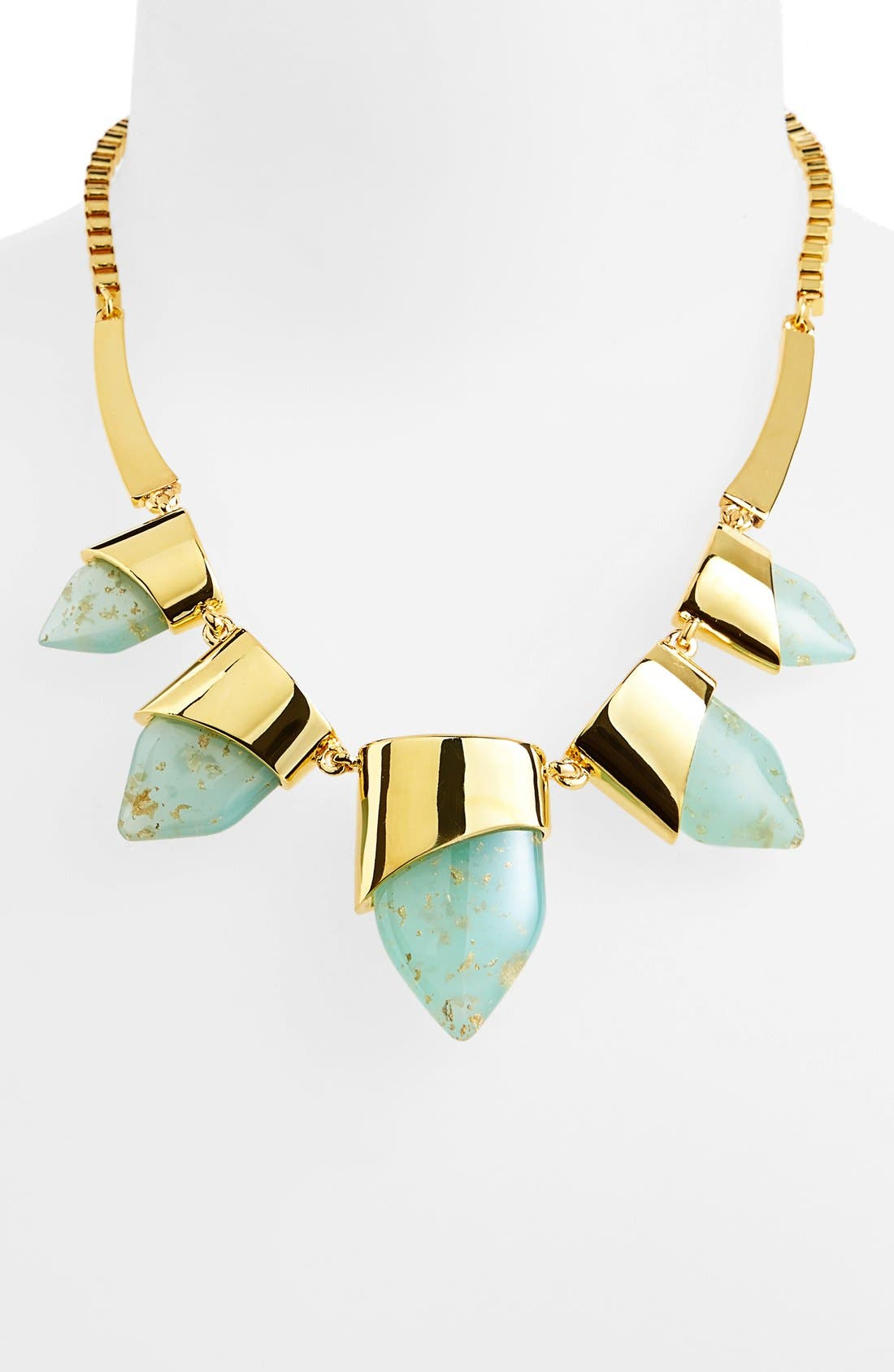 Alternate Image 1 Selected - Vince Camuto 'Smooth Moves' Frontal Necklace