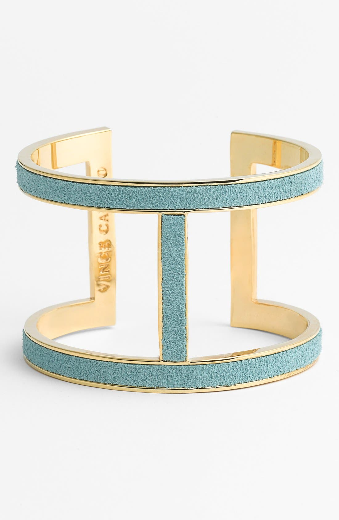 Alternate Image 1 Selected - Vince Camuto 'T-Bar' Suede Cuff