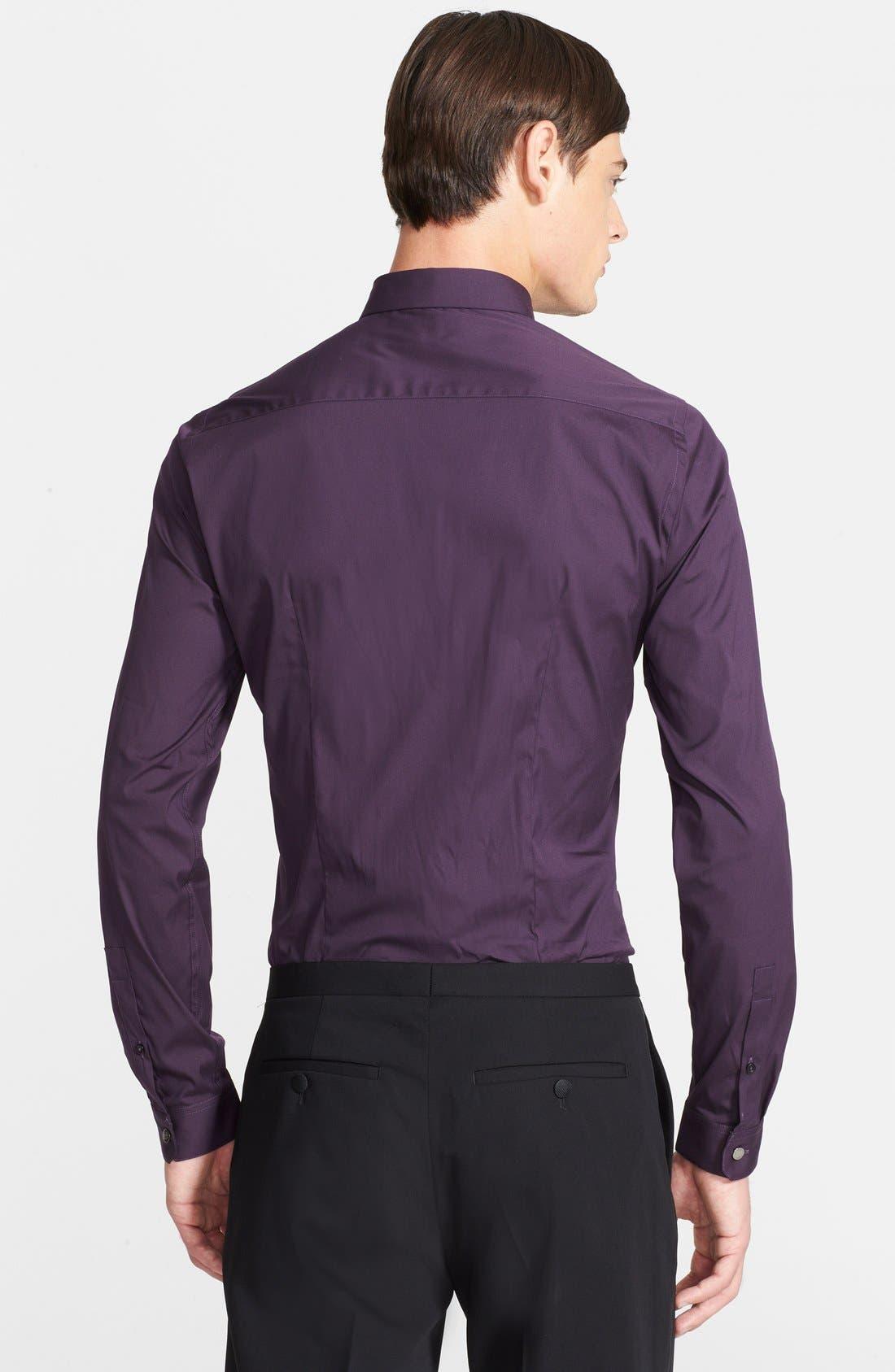 Alternate Image 3  - The Kooples Fitted Poplin Dress Shirt