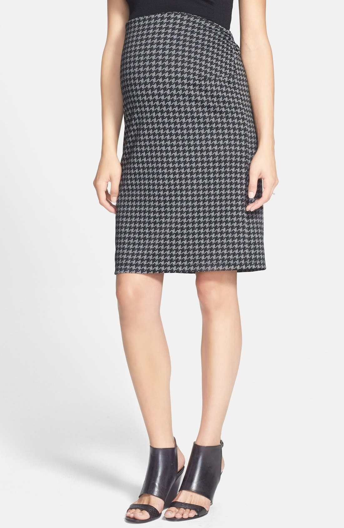 MATERNAL AMERICA Pencil Maternity Skirt