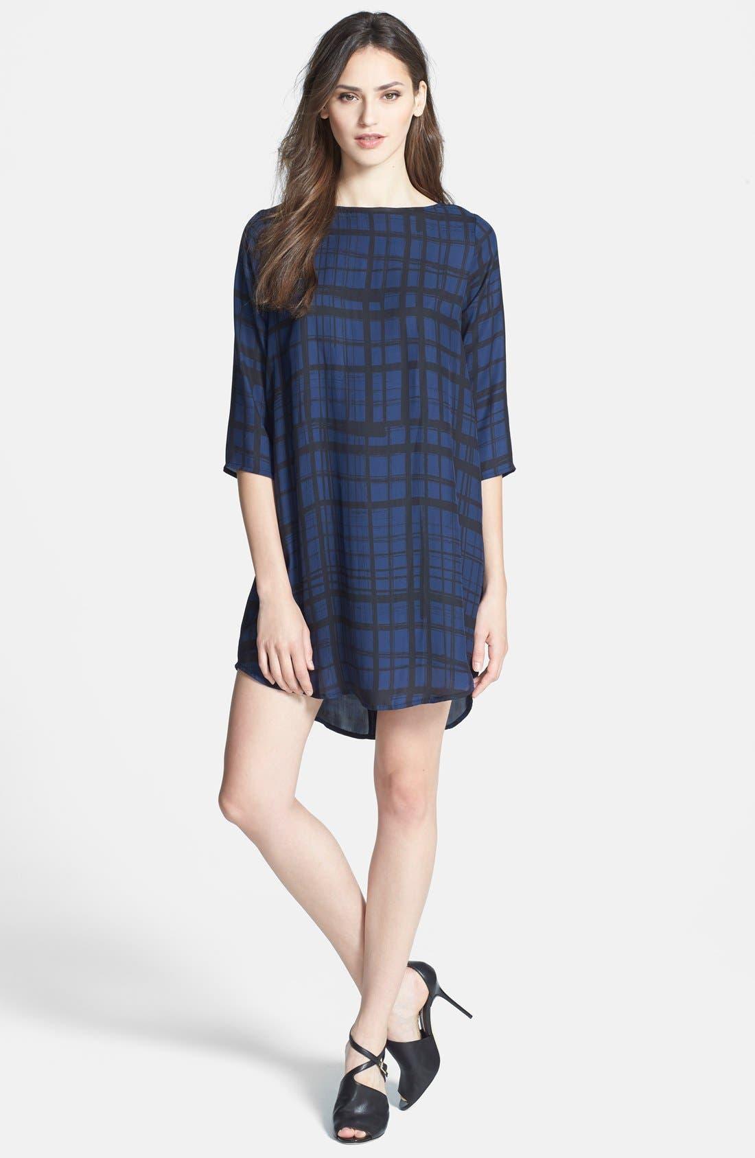 Alternate Image 3  - BB Dakota 'Musetta' Print Shift Dress