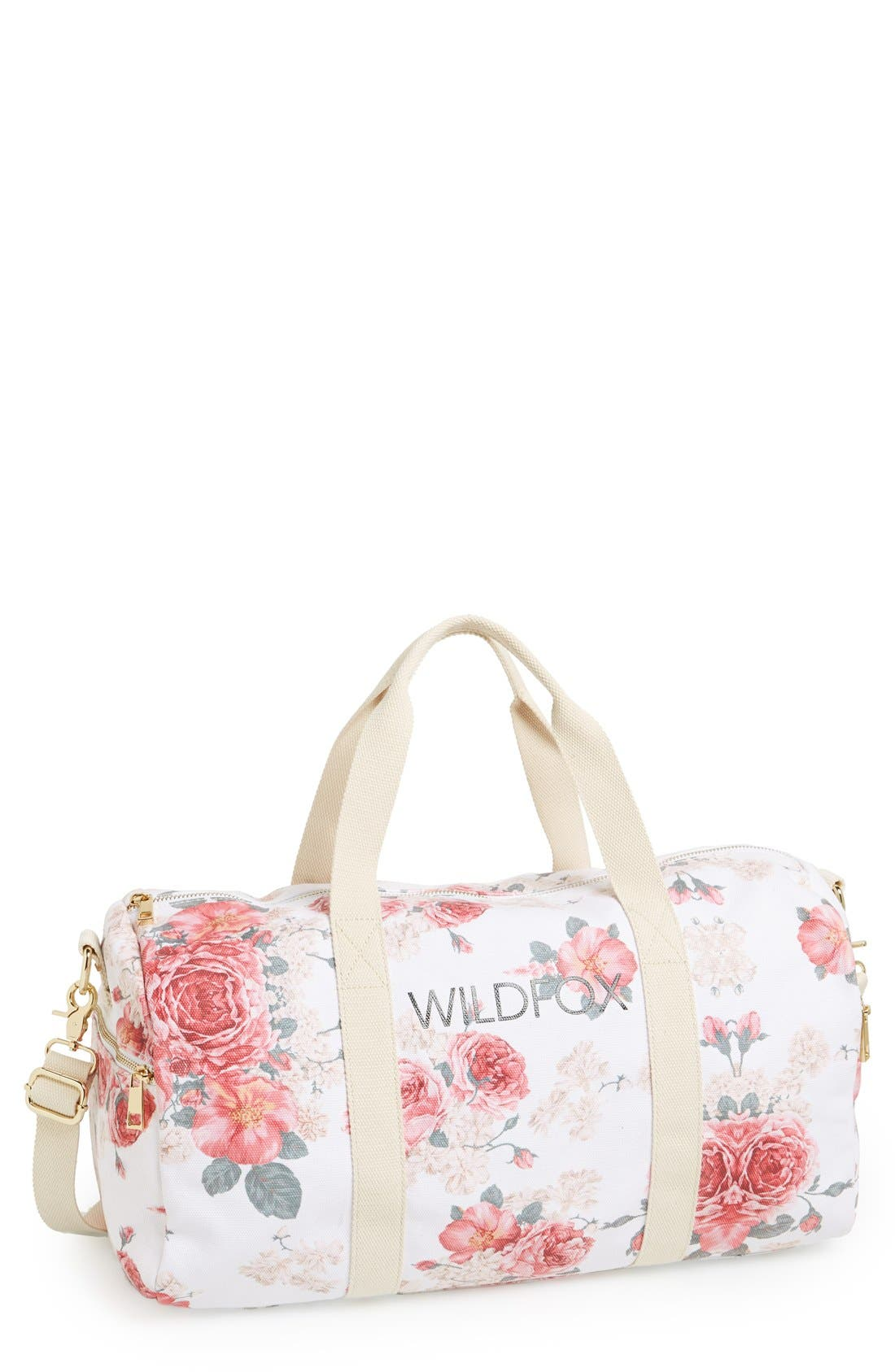 Main Image - Wildfox Logo Gym Bag (19 Inch)