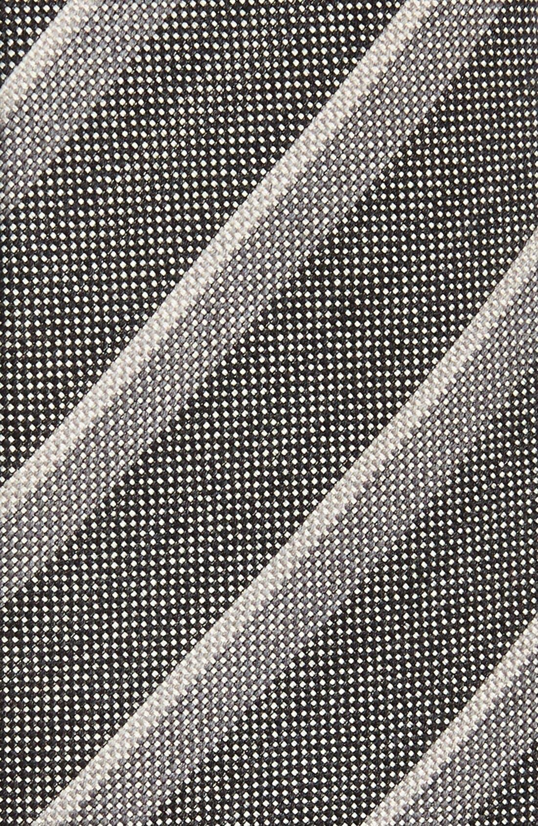 Alternate Image 2  - John Varvatos Collection Woven Cotton Blend Tie