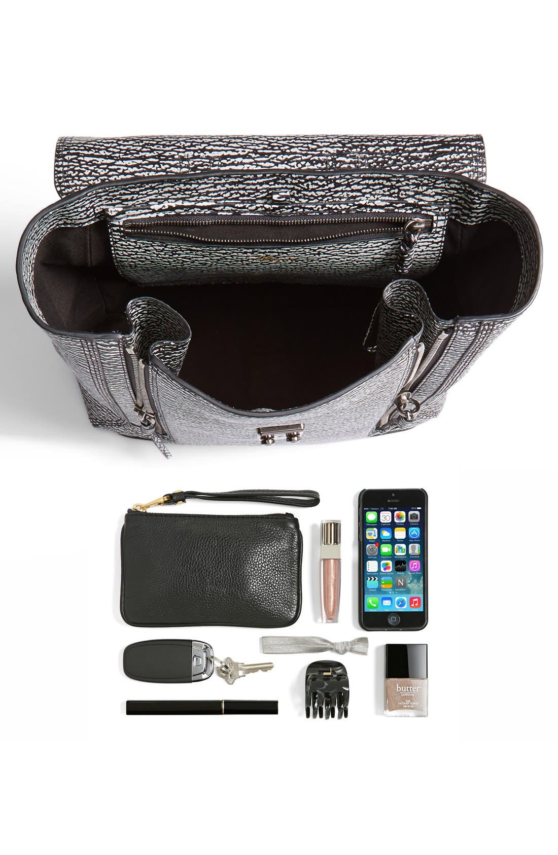 Alternate Image 4  - 3.1 Phillip Lim 'Pashli' Shark Embossed Leather Backpack