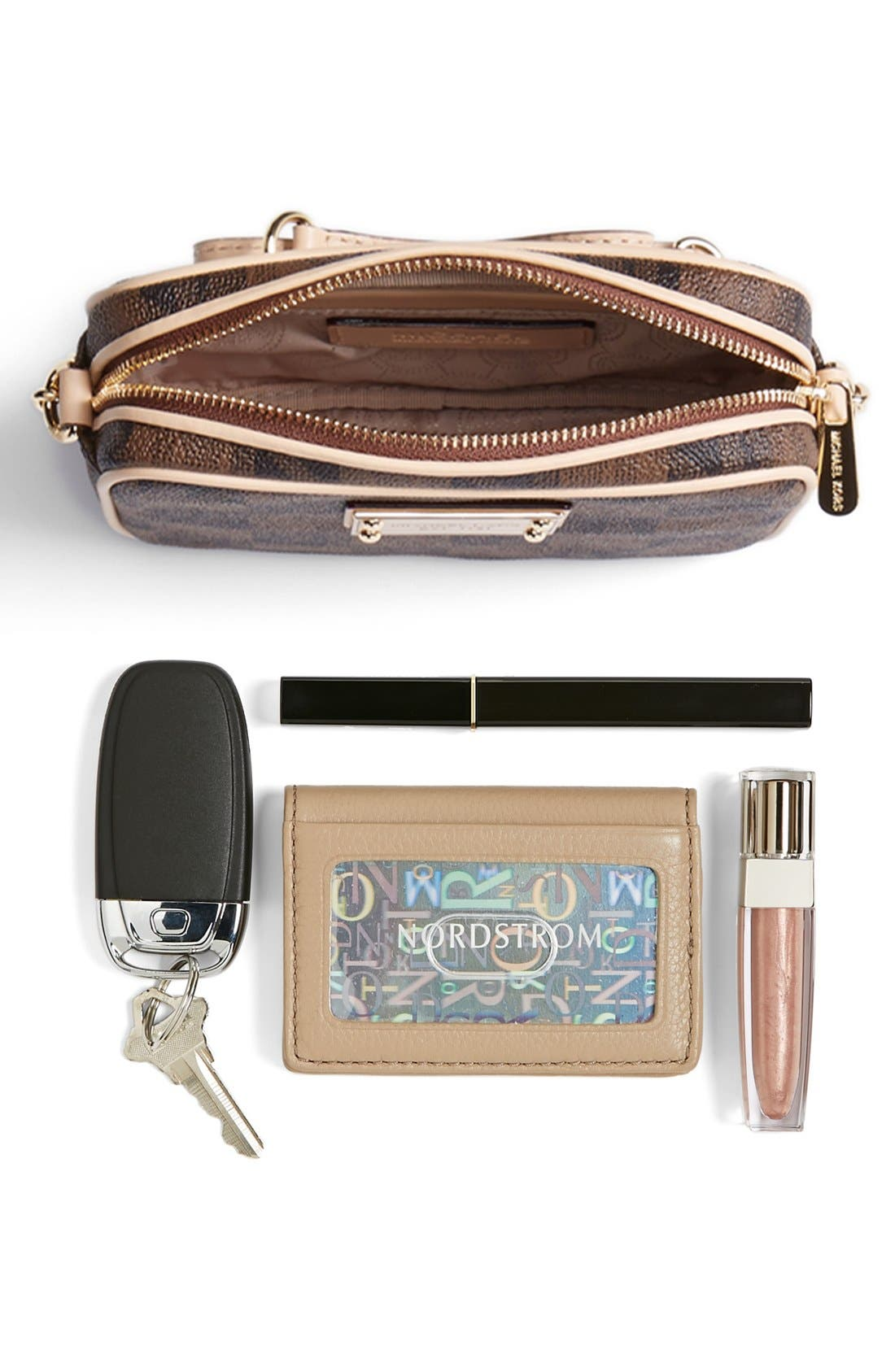 Alternate Image 5  - MICHAEL Michael Kors 'Small Jet Set Signature' Crossbody