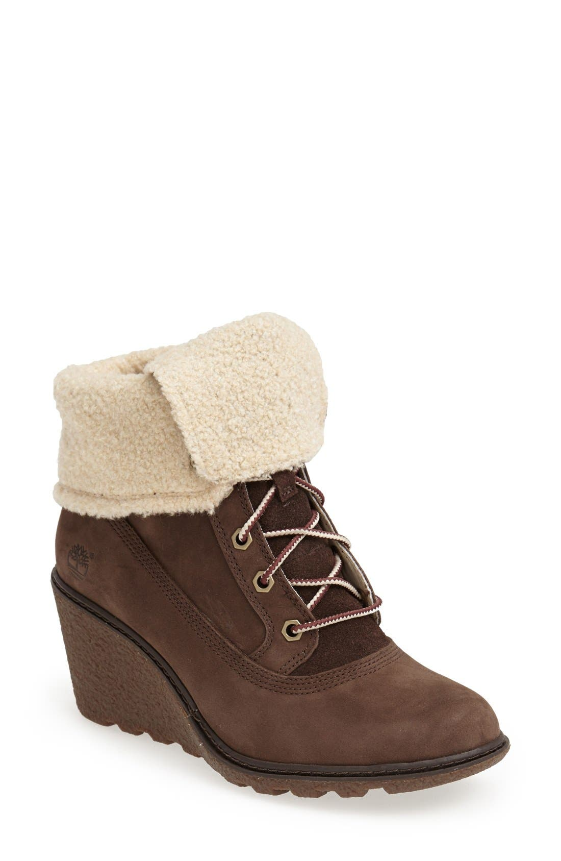 Alternate Image 1 Selected - Timberland Earthkeepers® 'Amston' Wedge Boot (Women)
