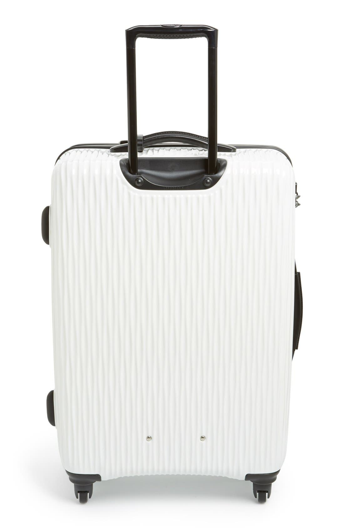 Alternate Image 2  - Longchamp 'Medium Fairval' Four-Wheel Hard Shell Suitcase (28 Inch)
