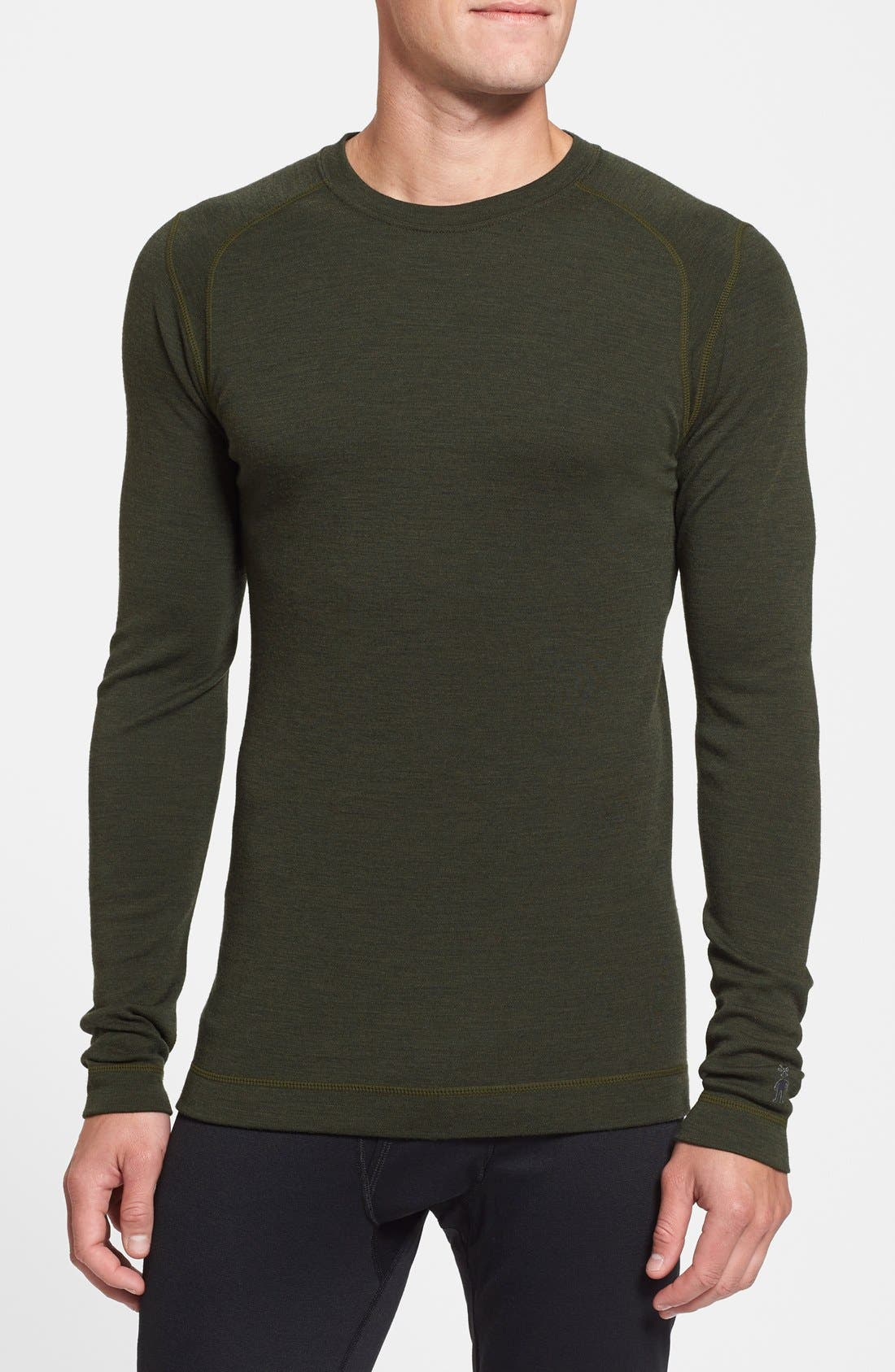 Alternate Image 1 Selected - Smartwool 'Midweight 250' Base Layer Merino Wool Crewneck Shirt