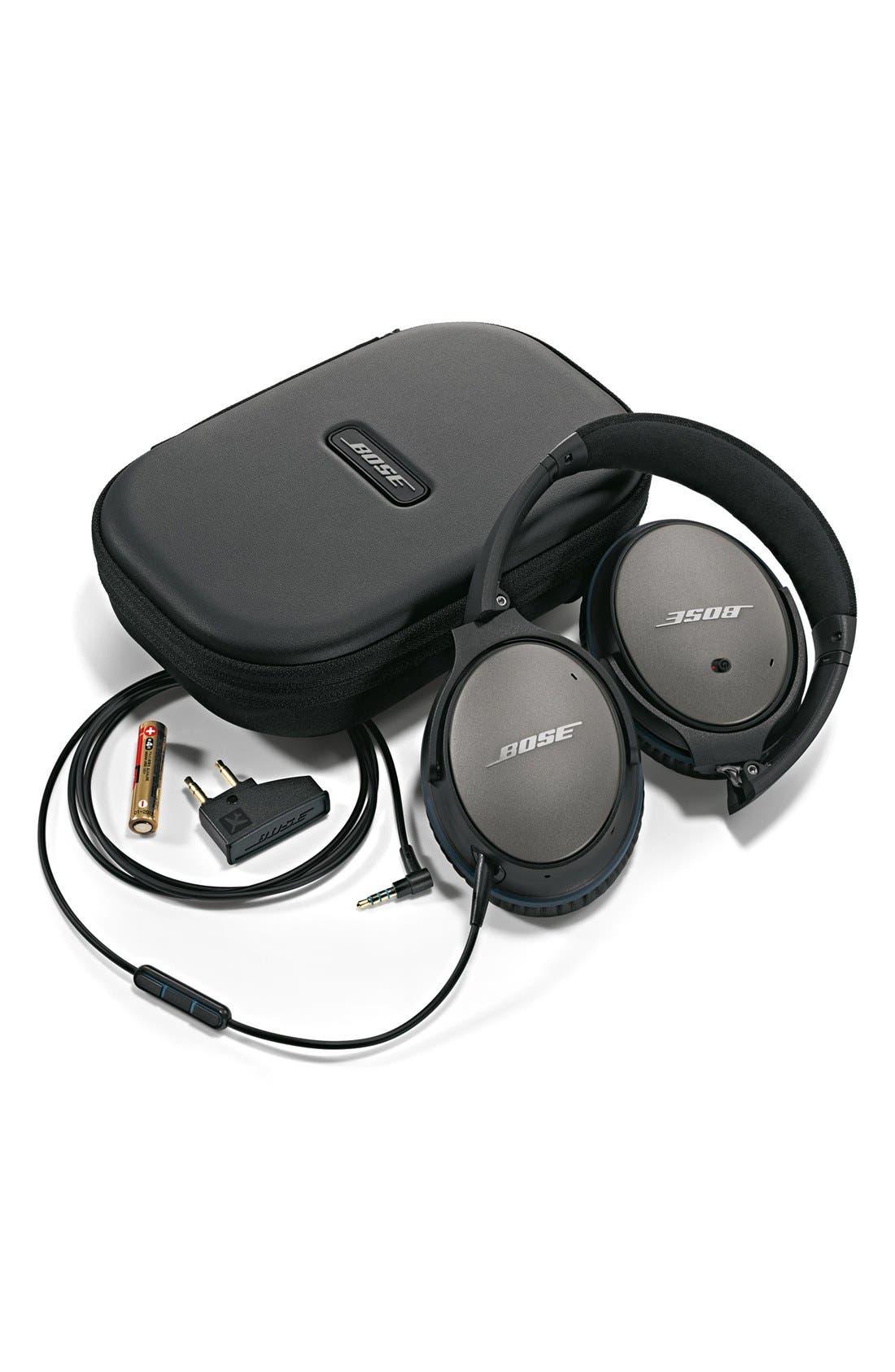 Alternate Image 5  - Bose® QuietComfort® 25 Acoustic Noise Cancelling® iOS Headphones