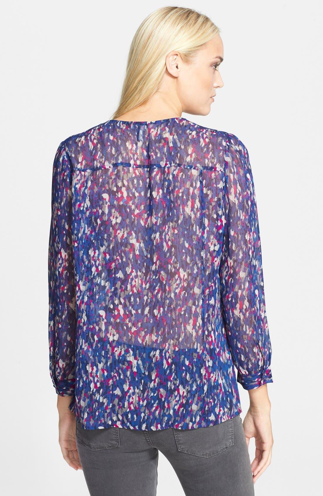 Alternate Image 2  - Joie 'Calvina' Silk Blouse (Nordstrom Exclusive)