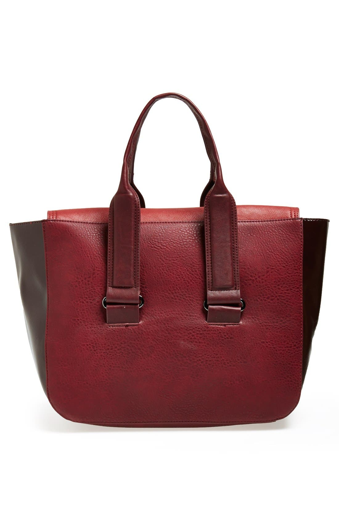 Alternate Image 4  - French Connection 'Elite' Faux Leather Tote