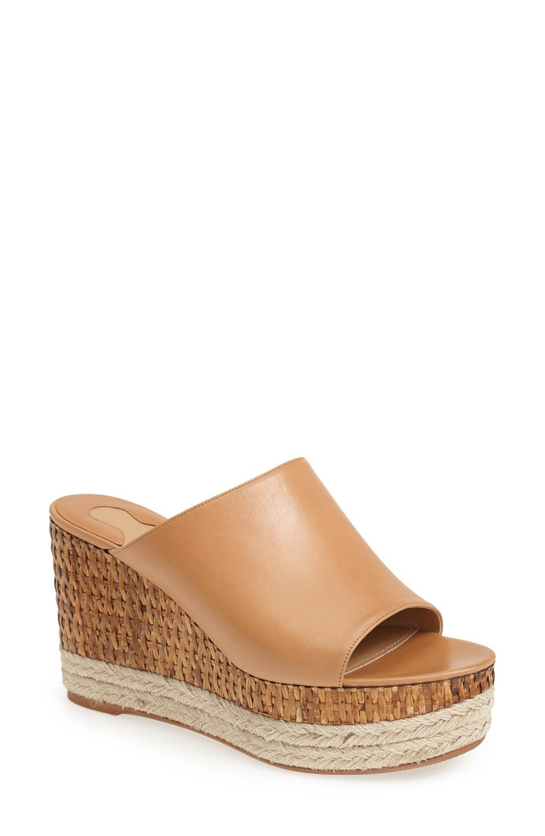 Alternate Image 1 Selected - Salvatore Ferragamo 'Maimei' Wedge Sandal (Women)