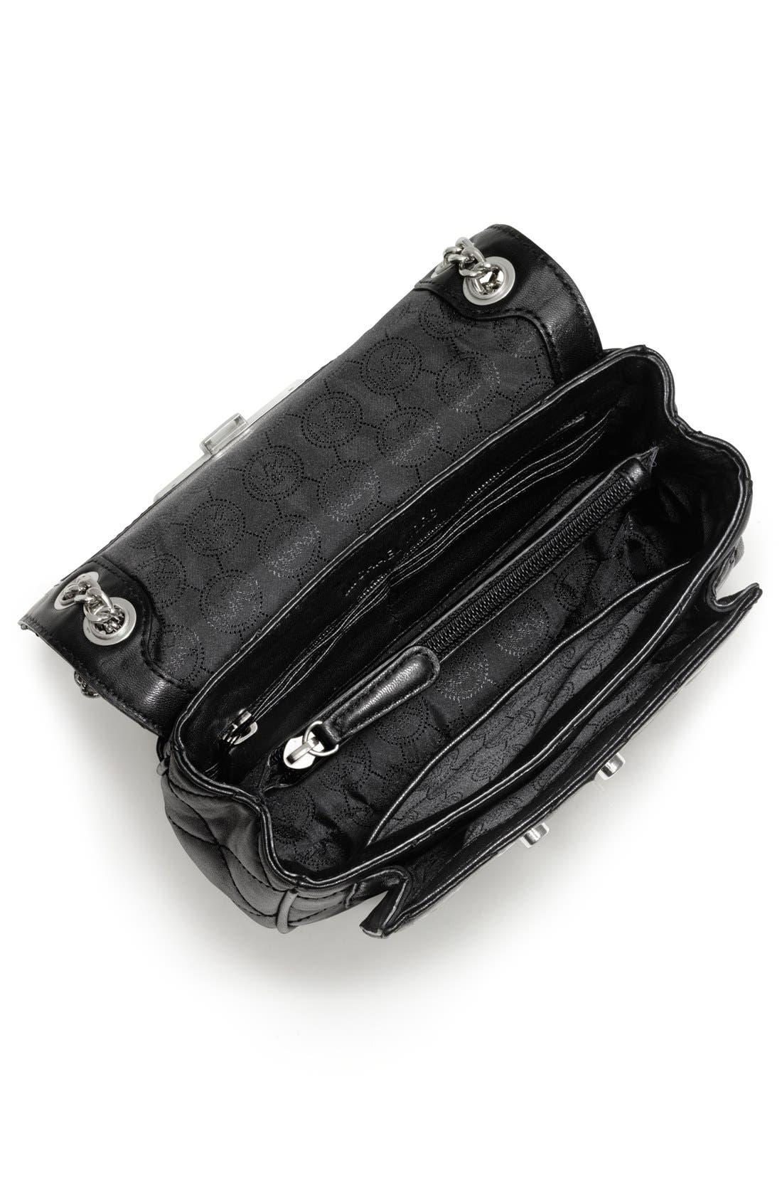 Alternate Image 2  - MICHAEL Michael Kors 'Small Sloan' Quilted Leather Shoulder Bag