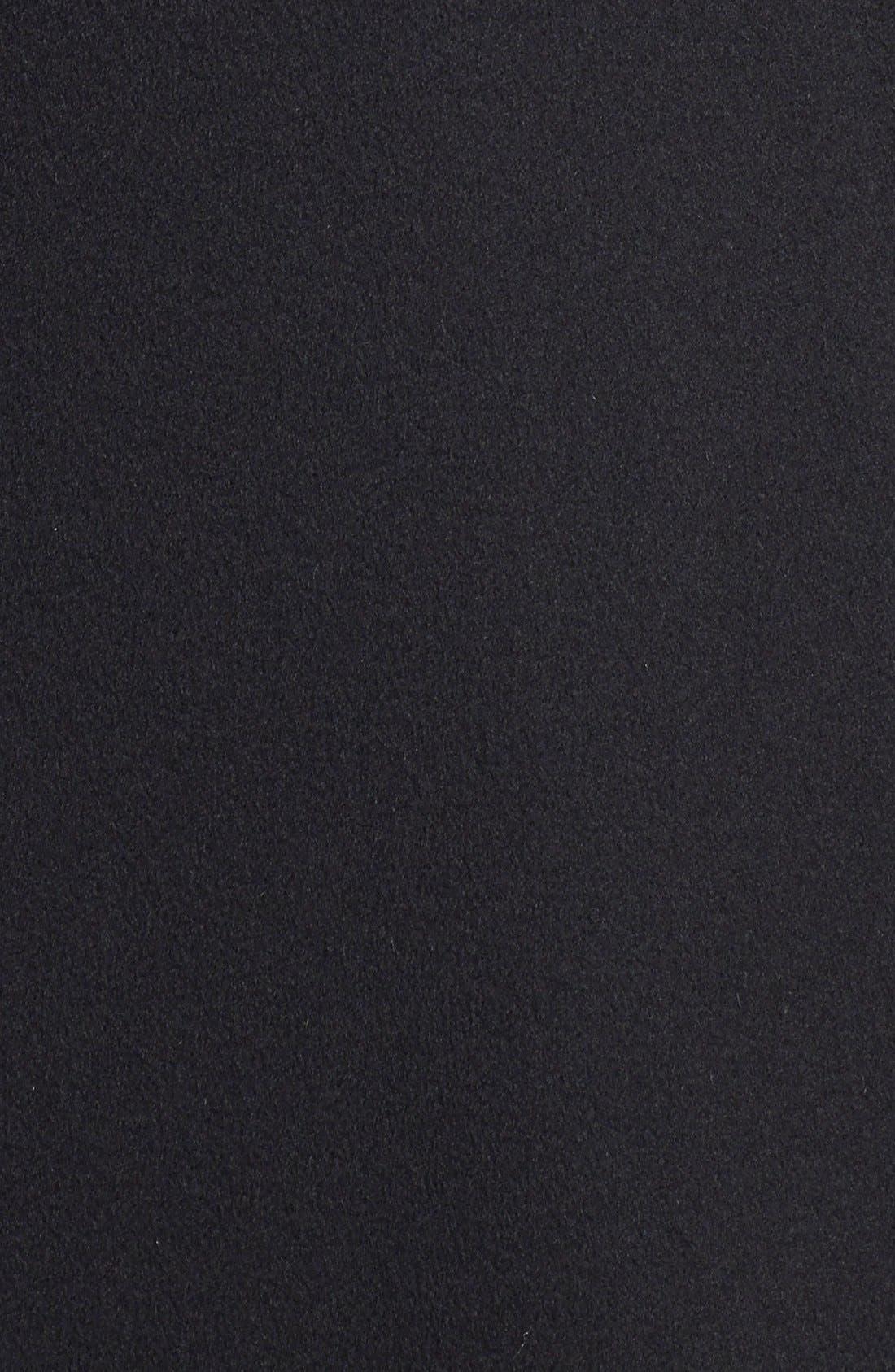 Alternate Image 3  - Fleurette Stand Collar Long Cashmere Coat