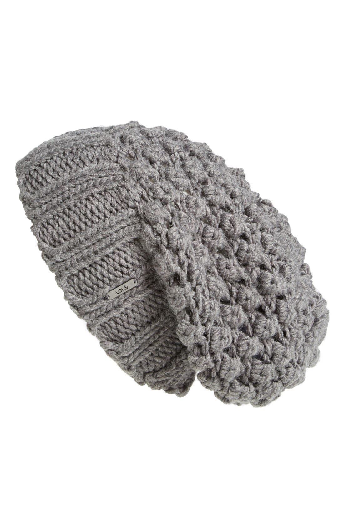 Alternate Image 1 Selected - Lole Popcorn Knit Beanie
