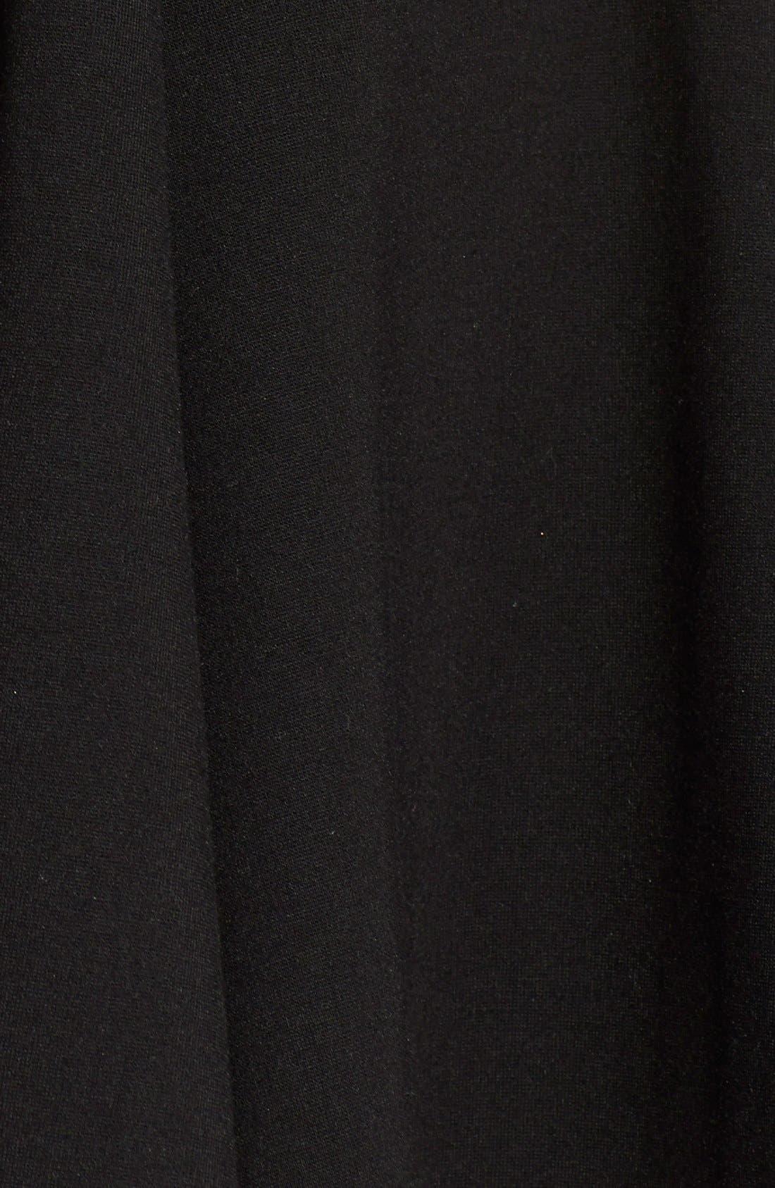 Alternate Image 3  - ASTR Ponte-Knit Pleated Skater Skirt