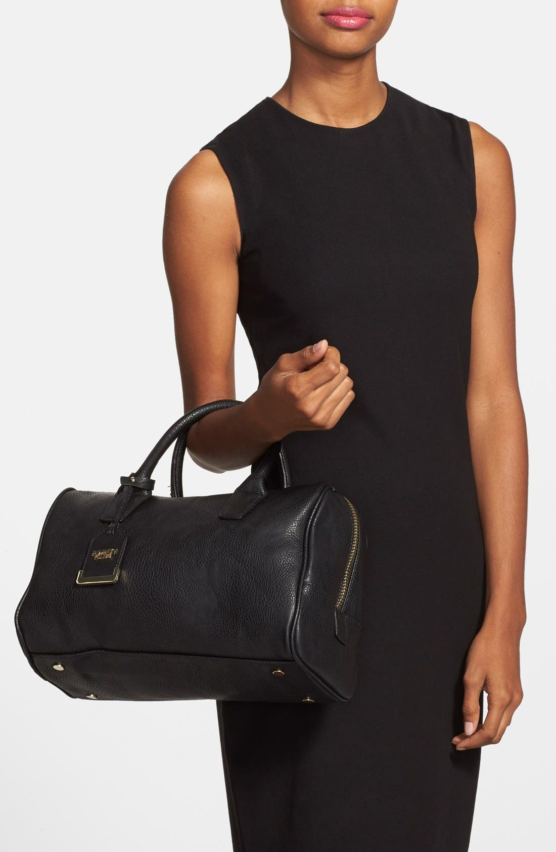 Alternate Image 2  - POVERTY FLATS by rian Faux Leather Zip Satchel