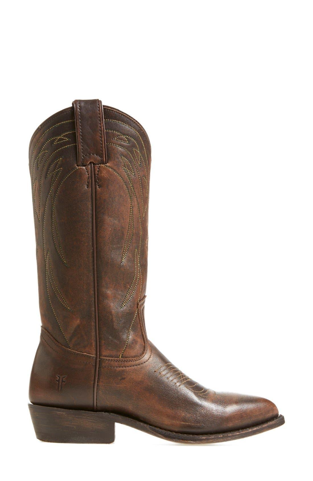 Alternate Image 4  - Frye 'Billy' Leather Western Boot (Women)