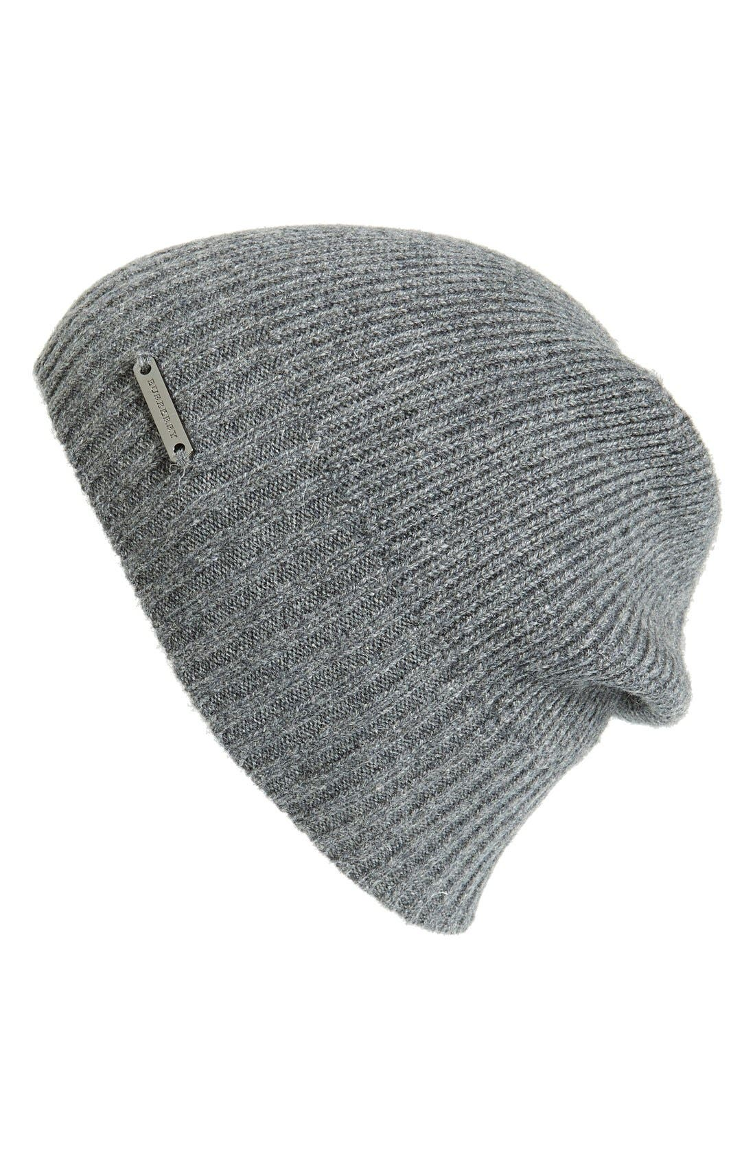 Alternate Image 1 Selected - Burberry Cashmere Beanie